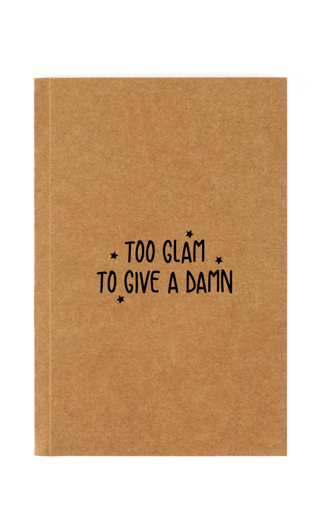 Brown Glam Notebook. Buy Online.