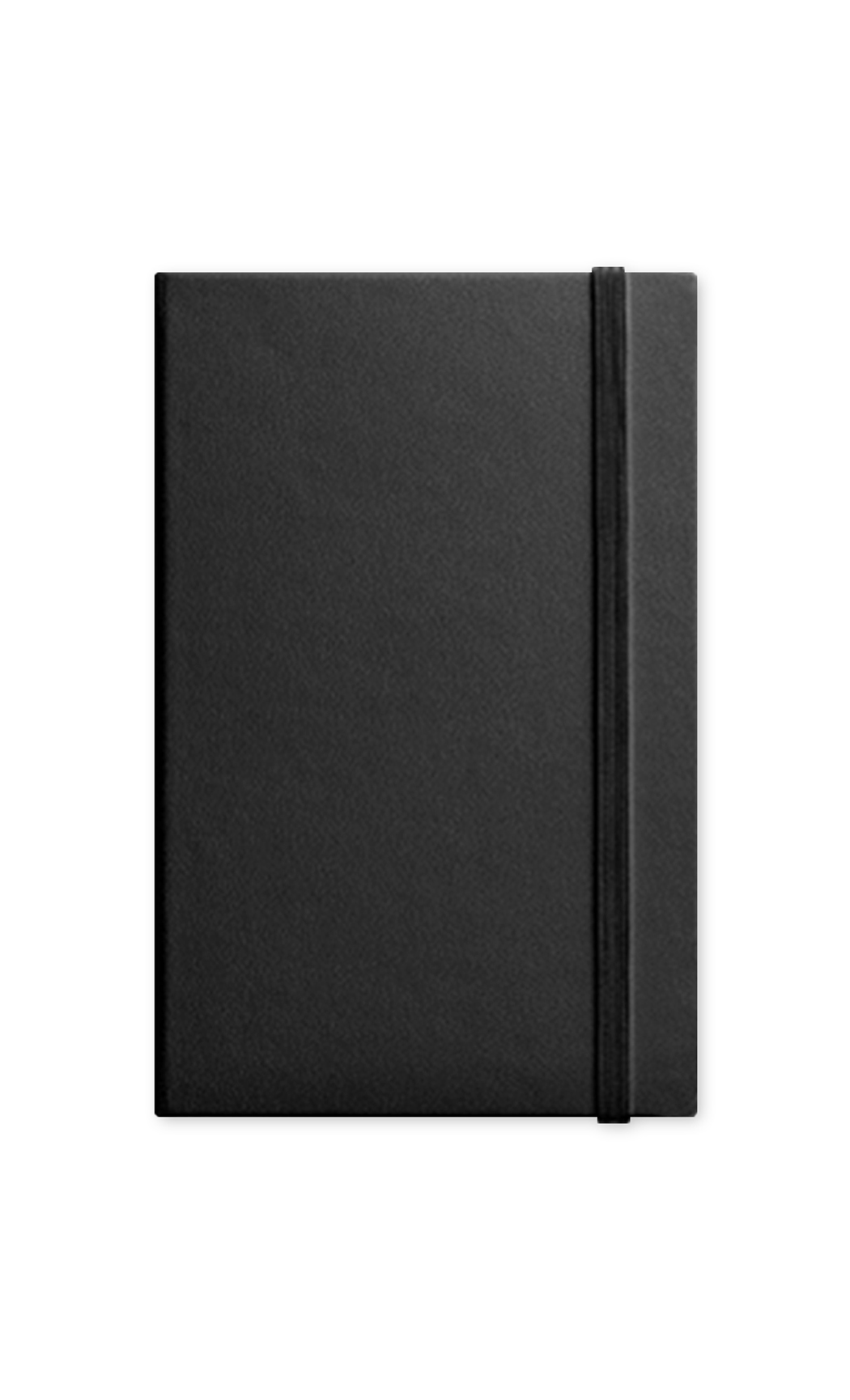 Black Journal with Elastic Band. Buy Online.
