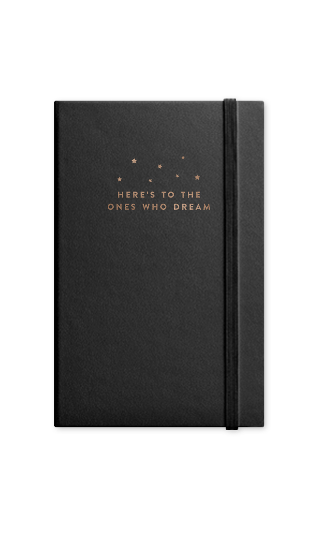 Black Dream Journal With Elastic Band. Buy Online.
