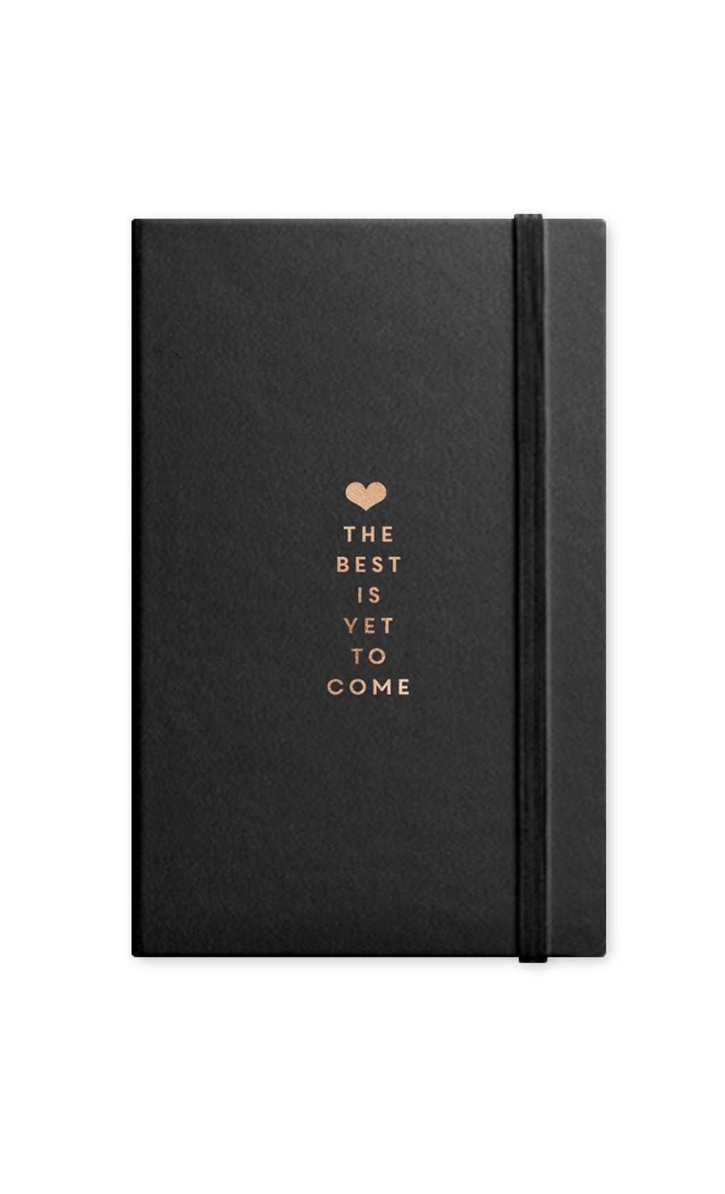Black Best Is Yet To Come Journal With Elastic Band. Buy Online.