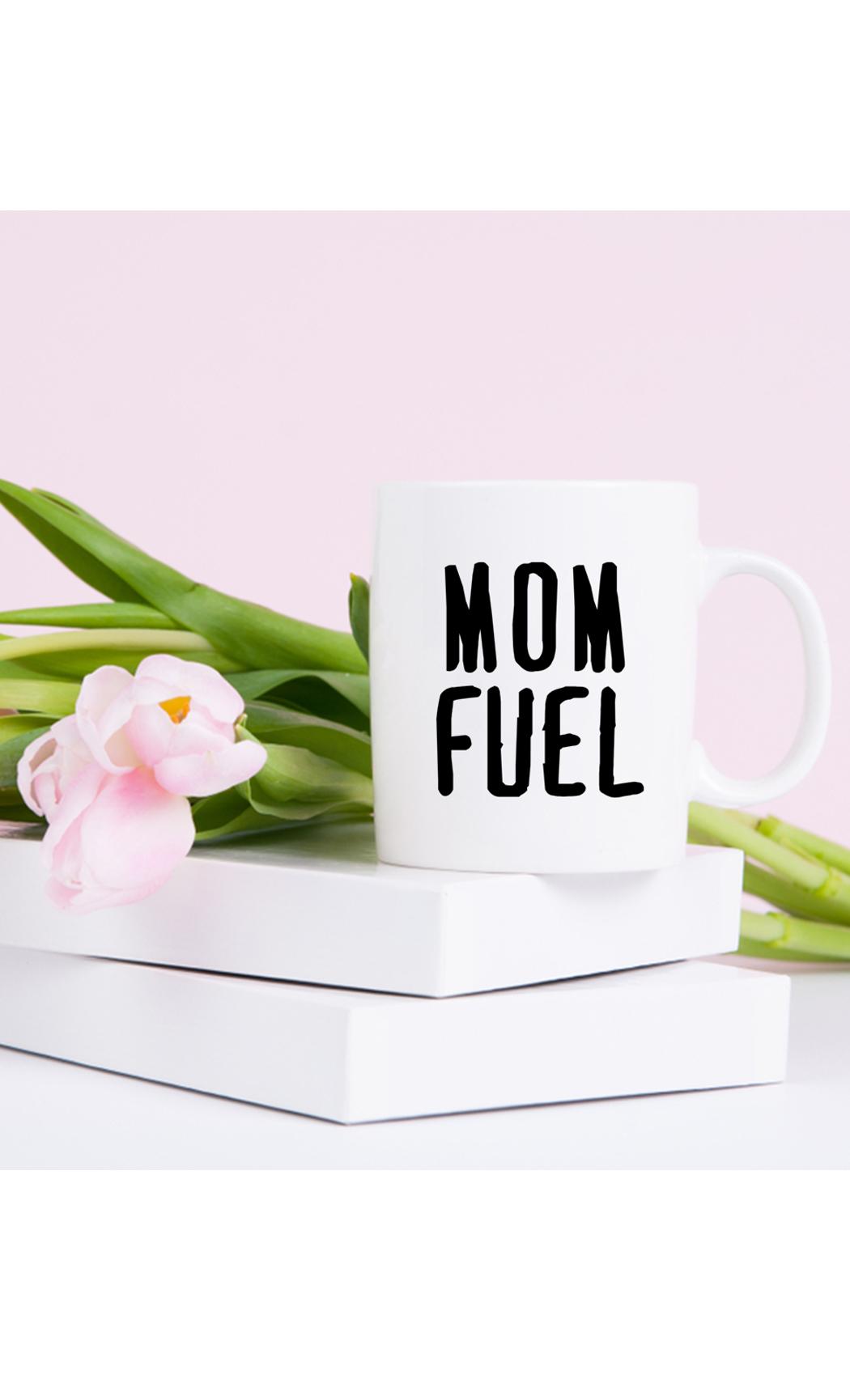 White Mom Fuel Mug. Buy Online.