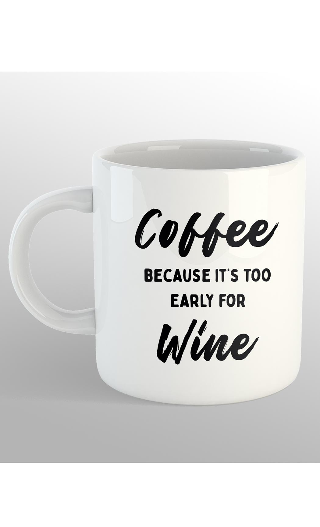 White Coffee Mug. Buy Online.