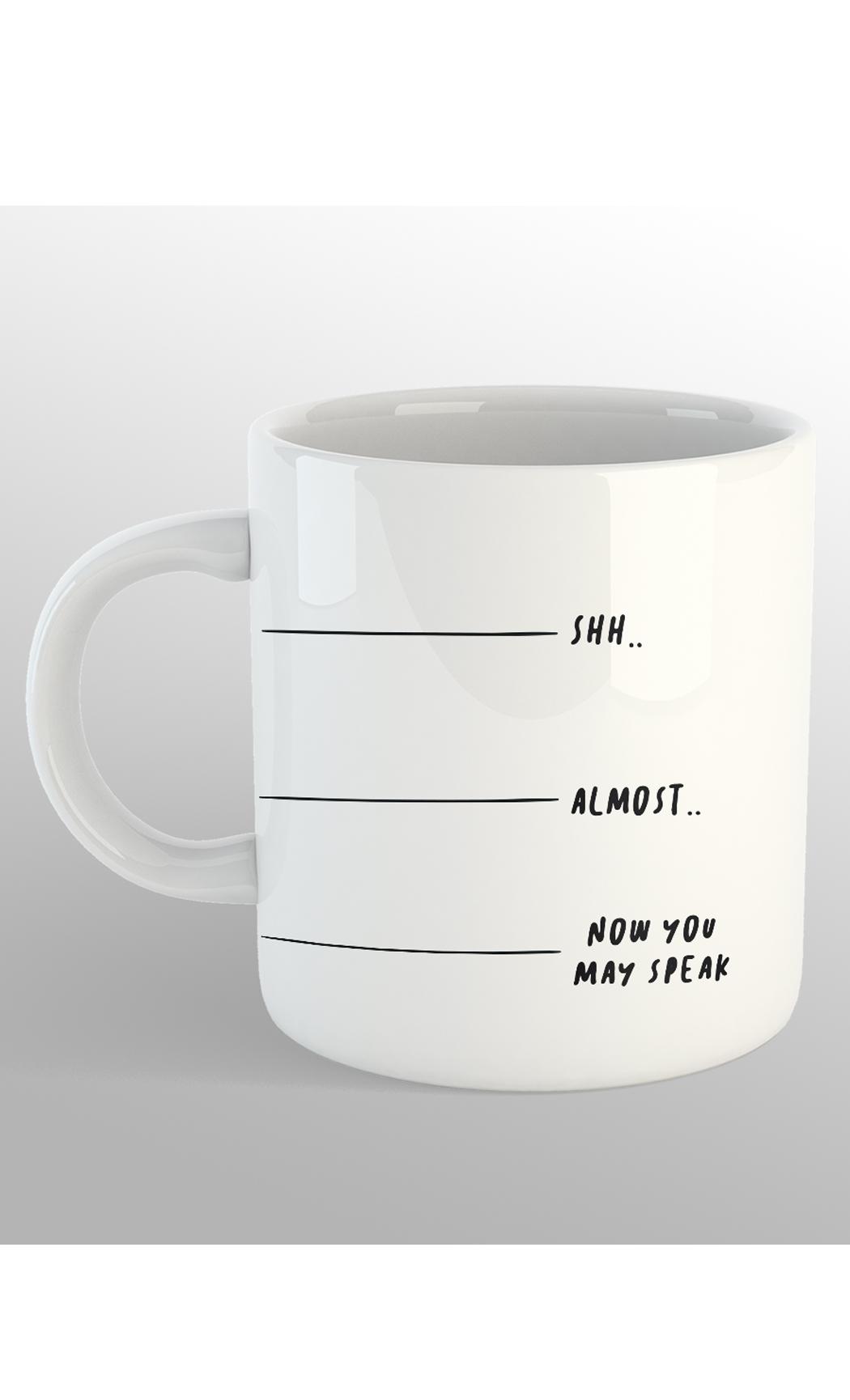 White Almost Mug. Buy Online.
