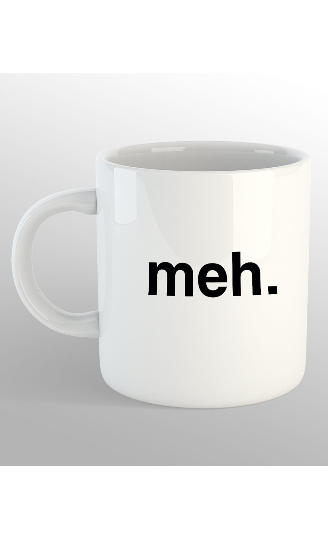Meh Mug. Buy Online.