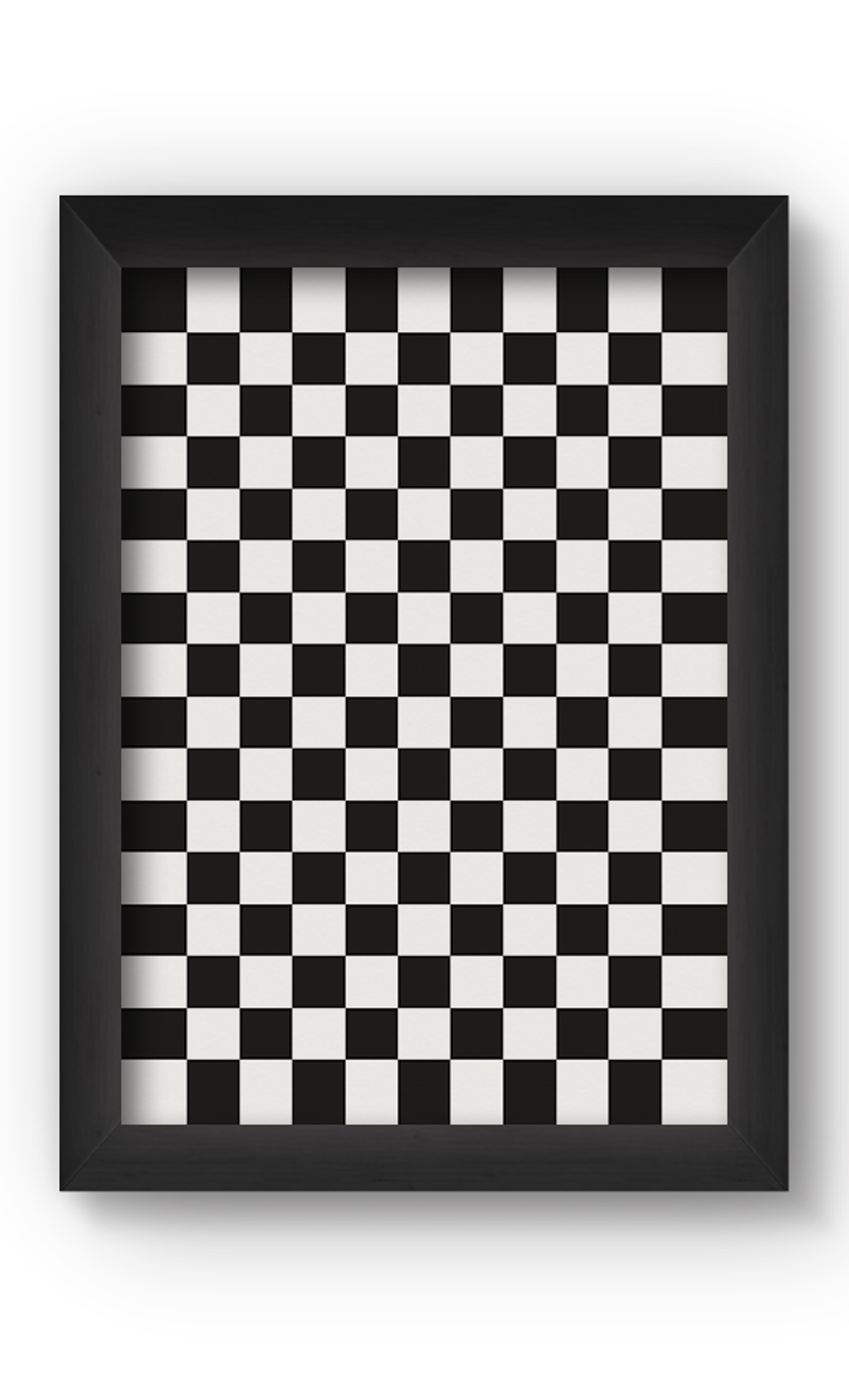Black & White CHECKERED Poster. Buy Online.