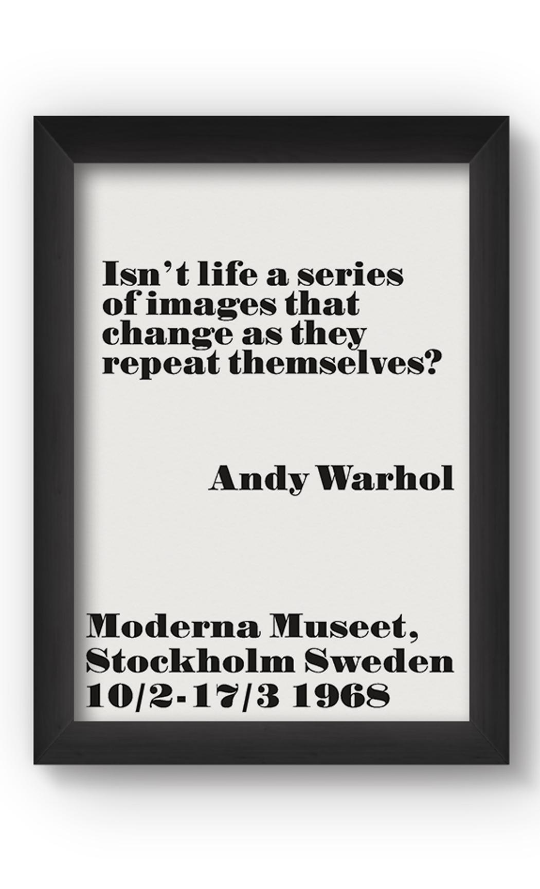 Black & White ISN'T LIFE Poster. Buy Online.