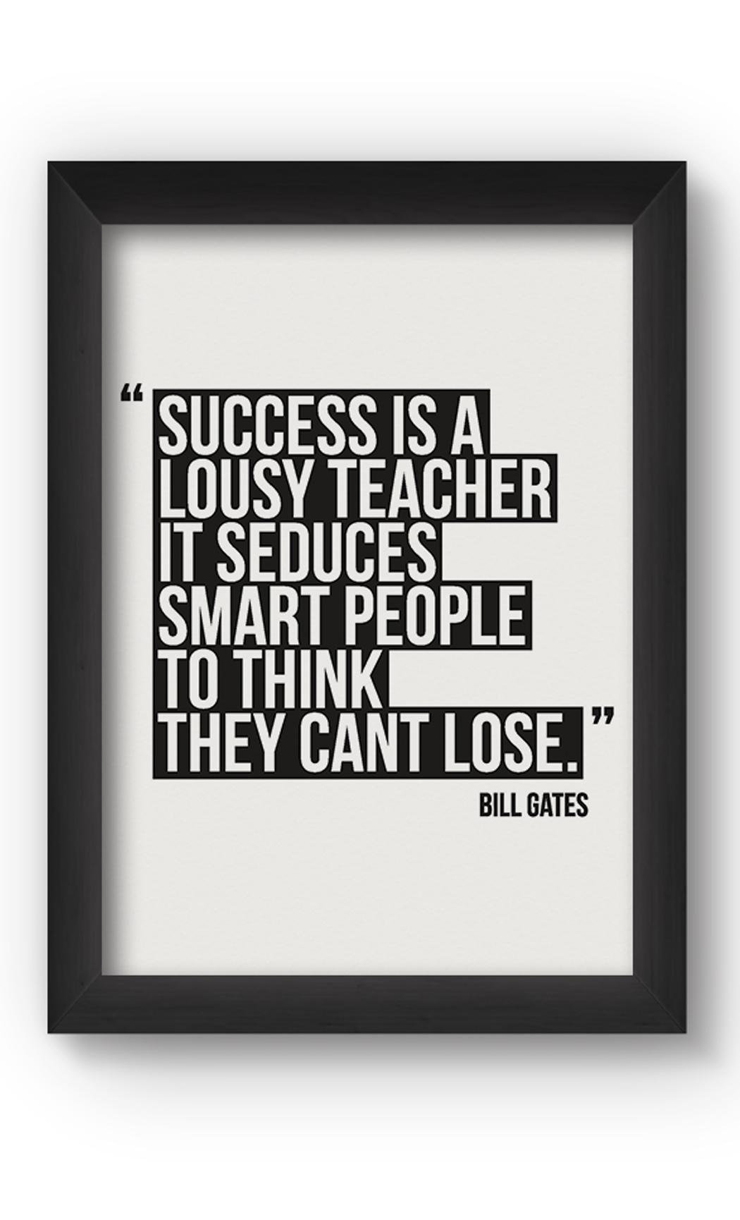 Black & White SUCCESS Poster. Buy Online.