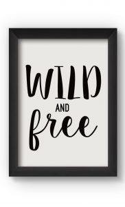 Black & White WILD Poster. Buy Online.