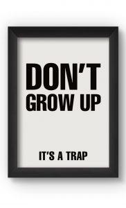 Black & White TRAP Poster. Buy Online.