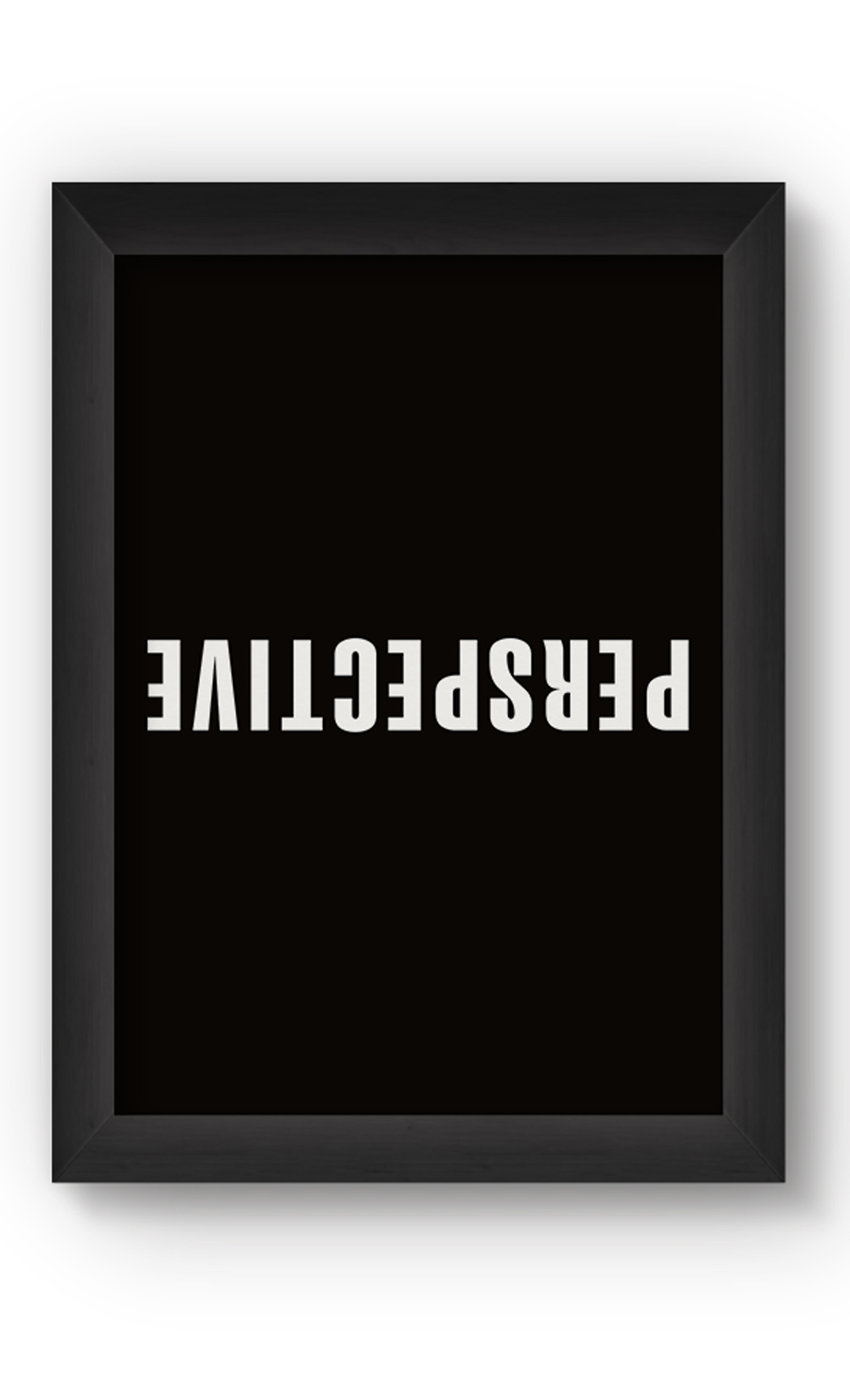 Black & White PERSPECTIVE Poster. Buy Online.