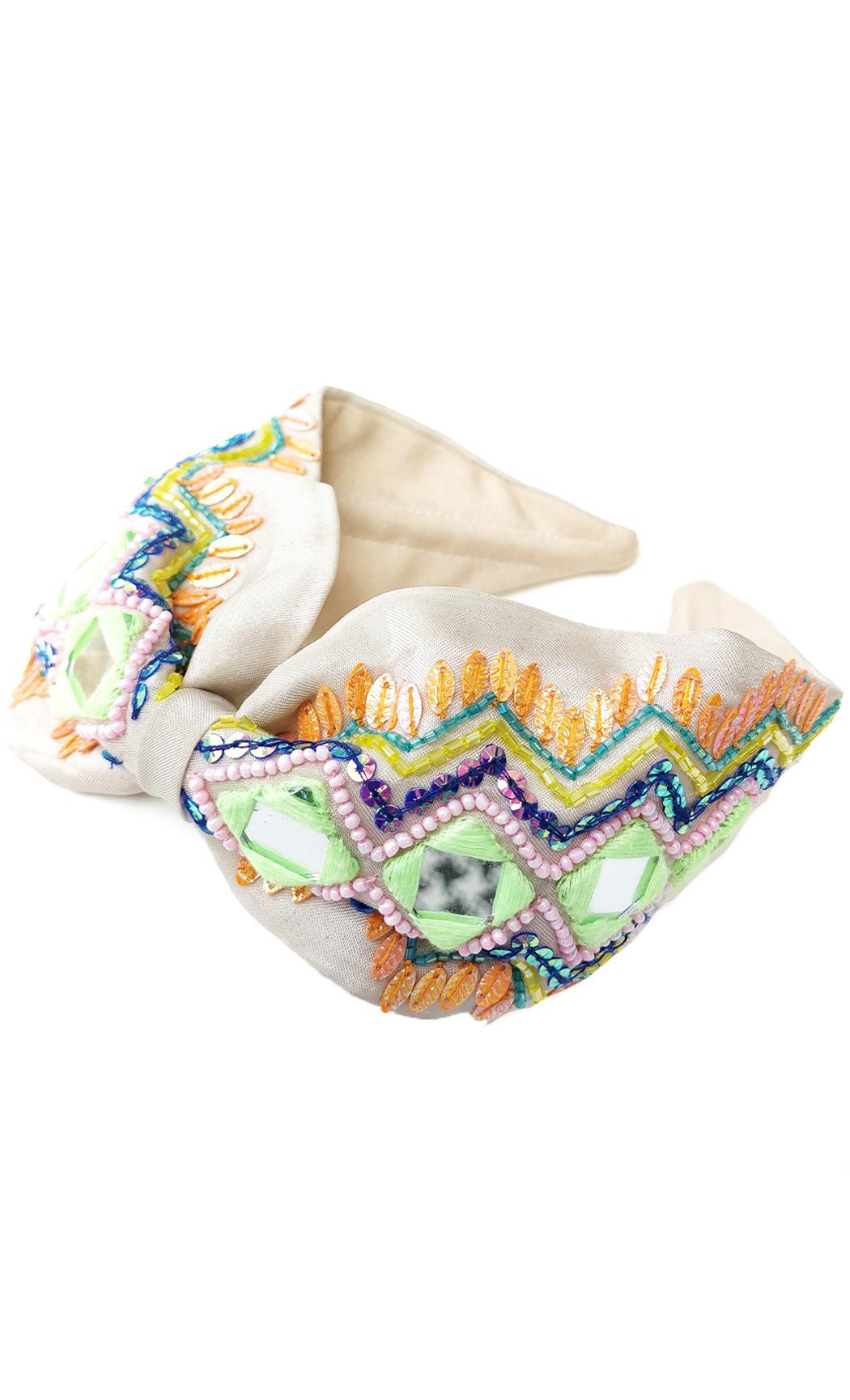 Multicolor Mirror Mirror Hairband. Buy Online