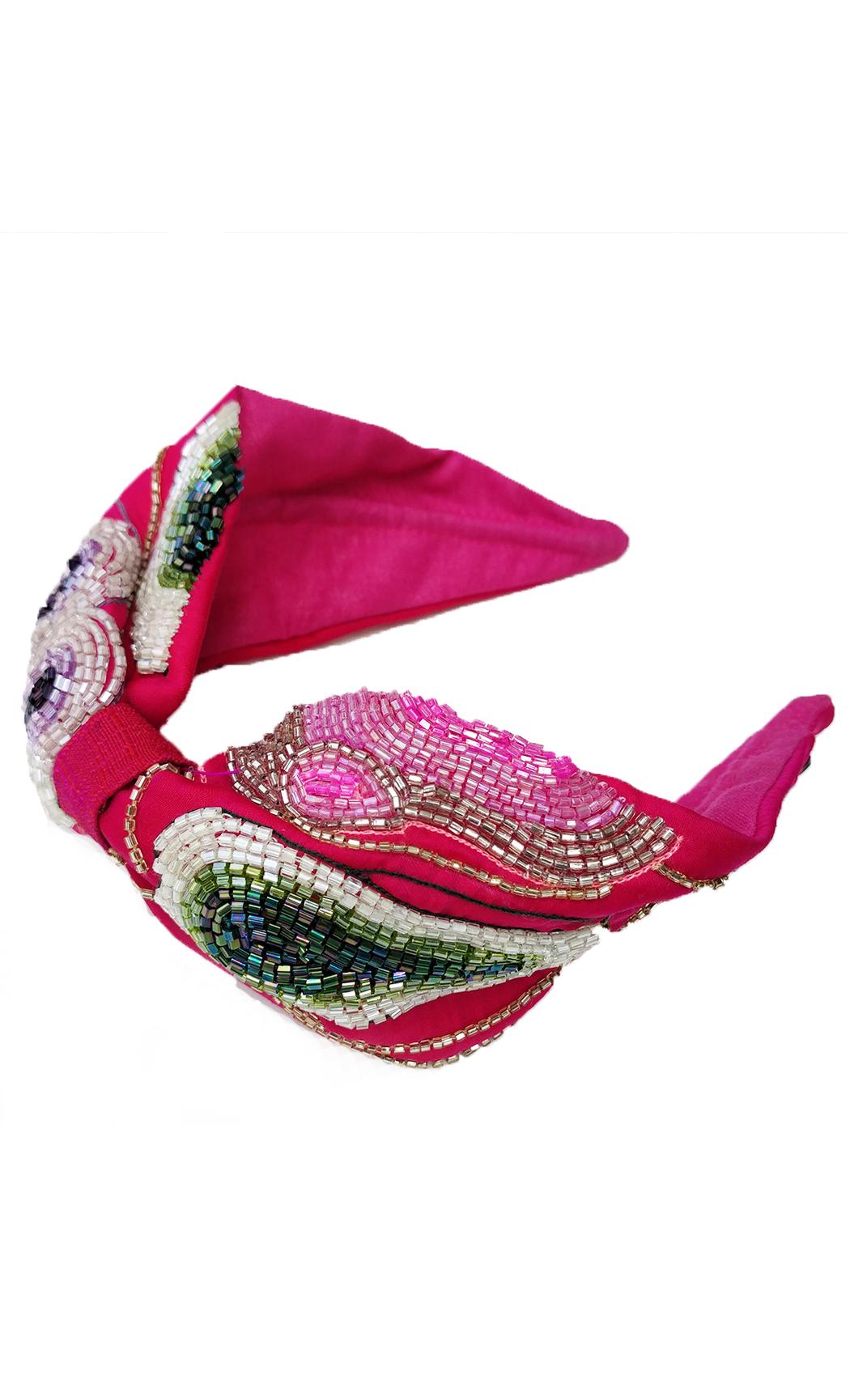 Pink Gemstone Hairband. Buy Online