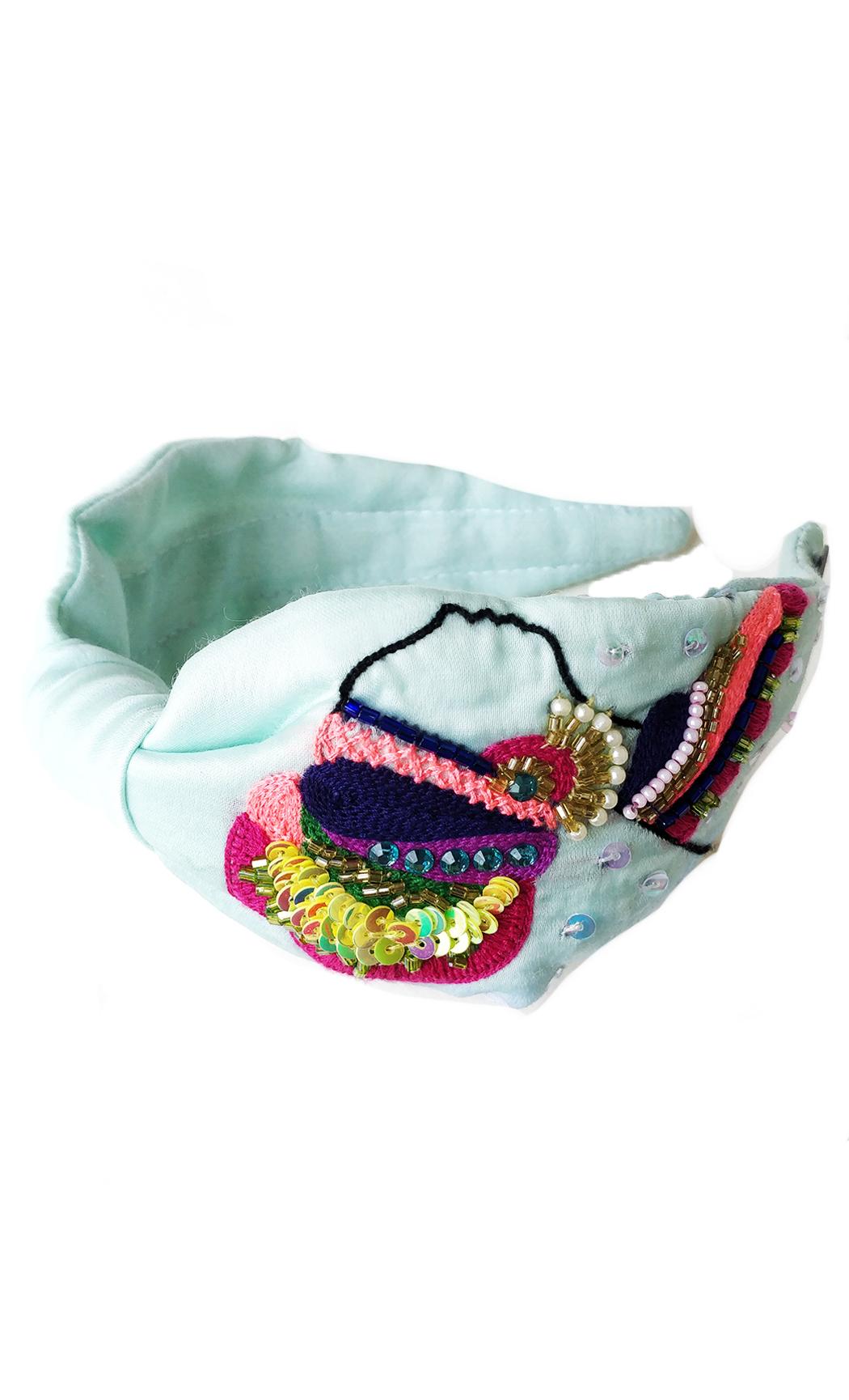 Blue Eygptian Women Hairband. Buy Online