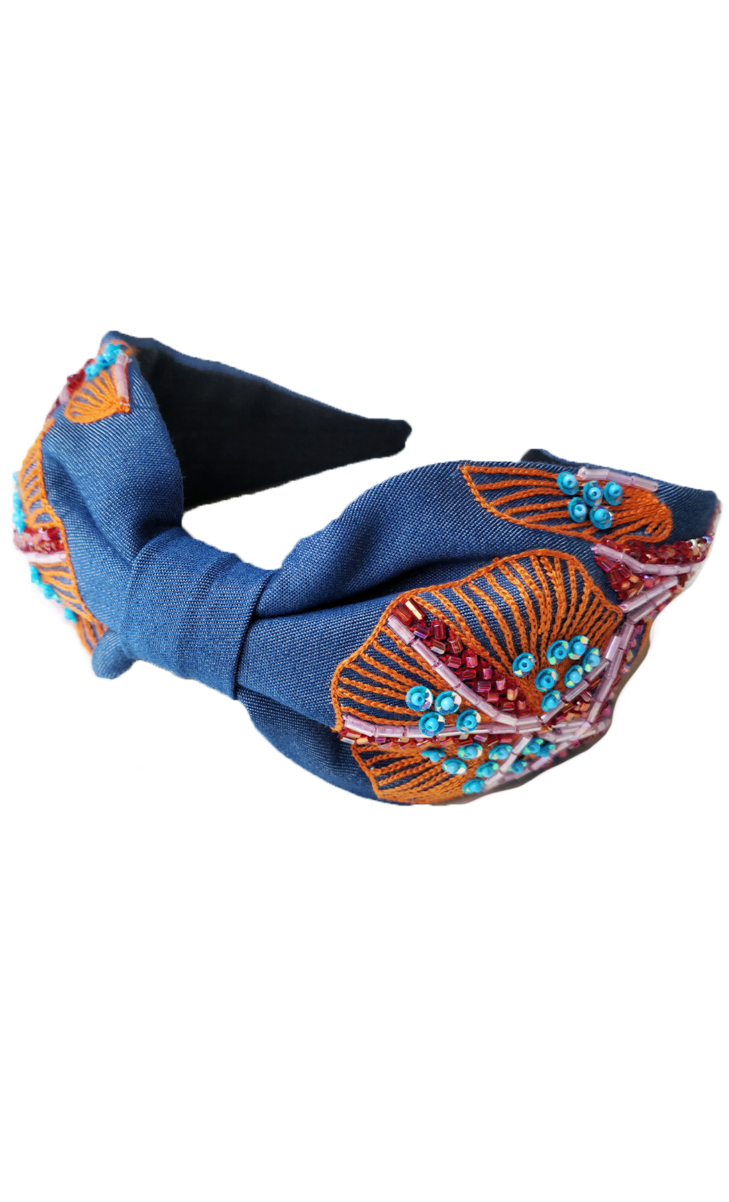 Blue and Orange Jelly Fish Hairband. Buy Online