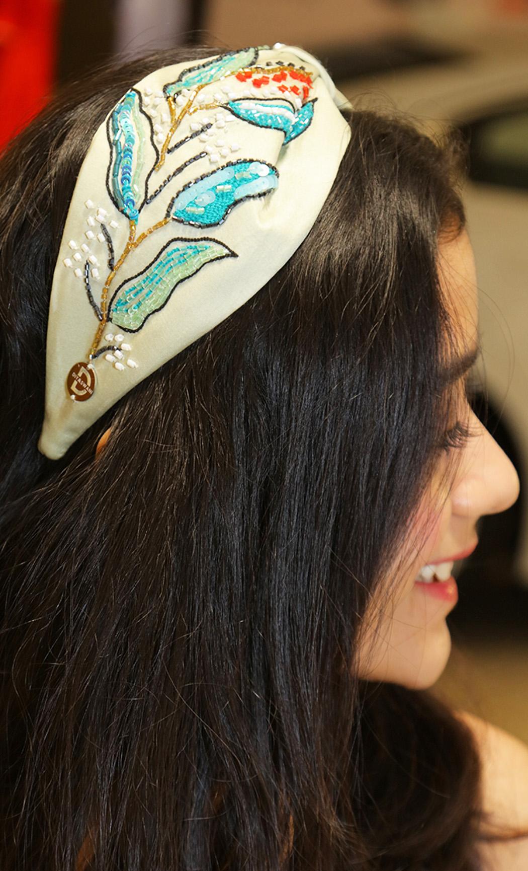 Green Leaves Hairband. Buy Online