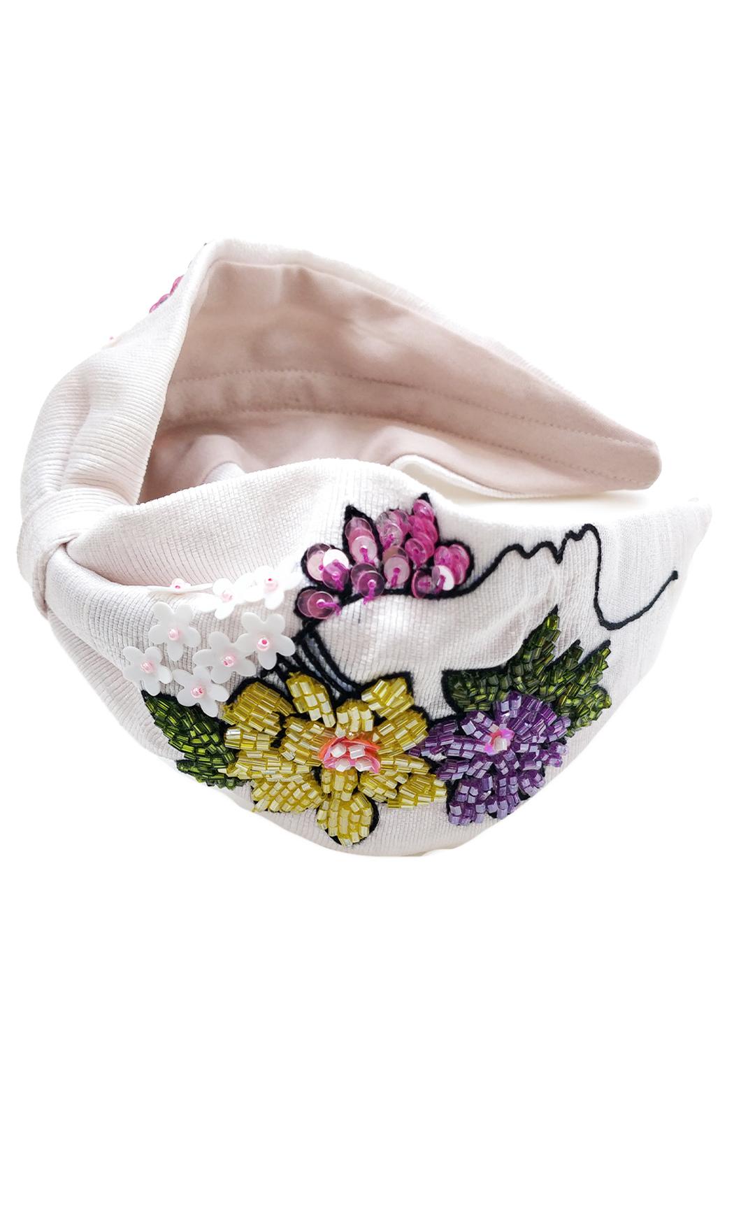 Pink Flower Girl Hairband. Buy Online