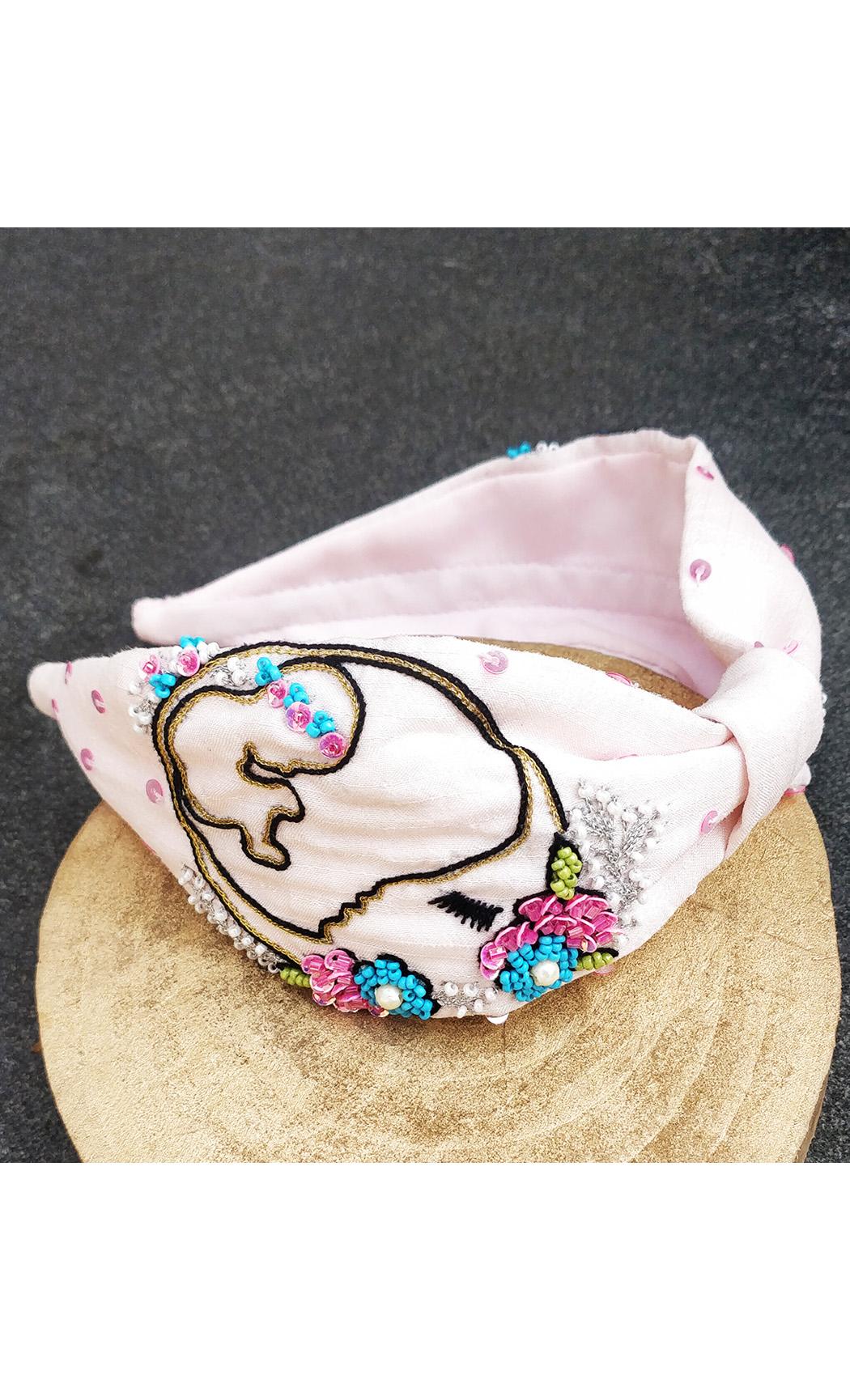 Pink Mom-to-be Hairband cum Bandana. Buy Online
