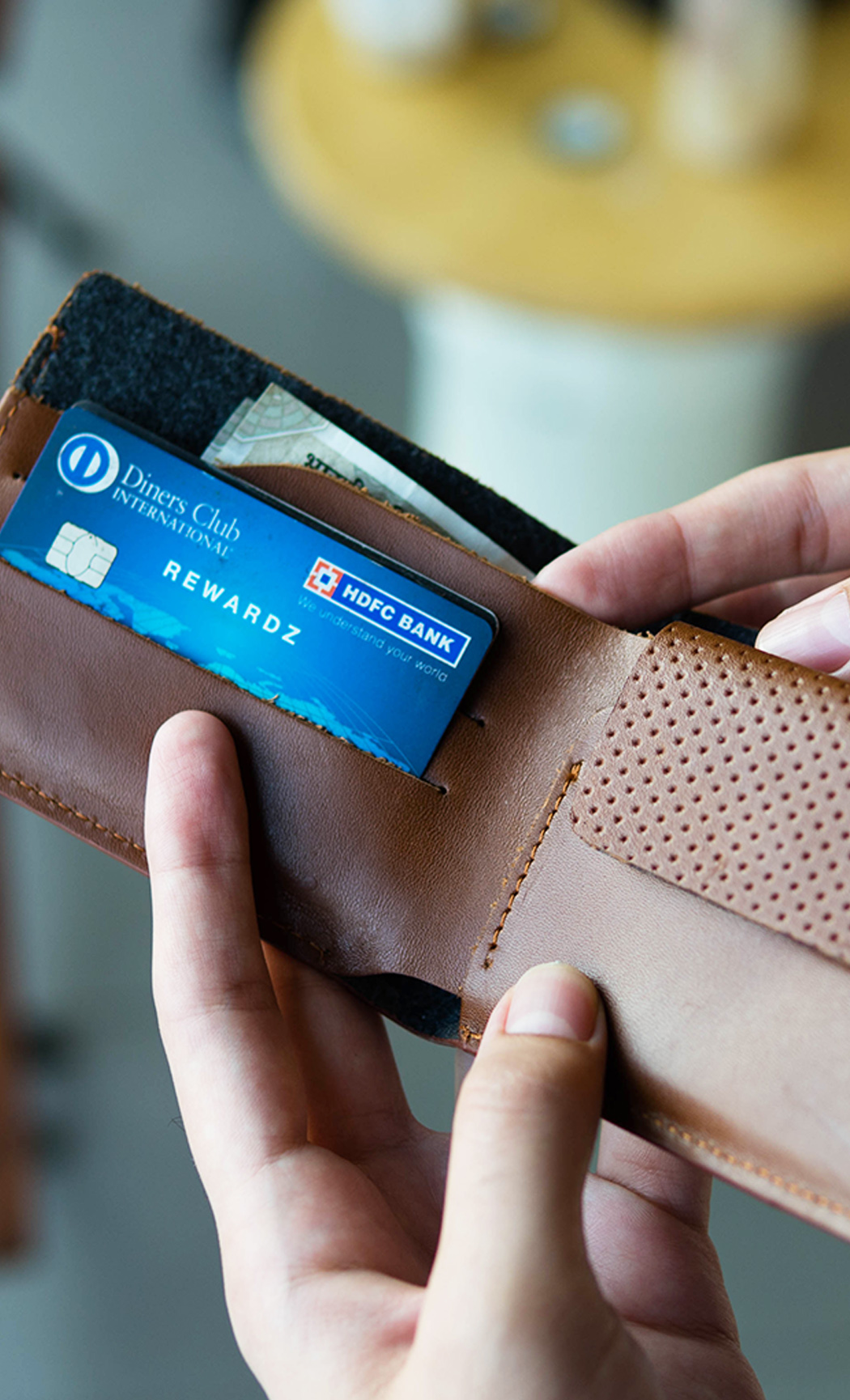 Brown Men's Leather Wallet. Buy Online