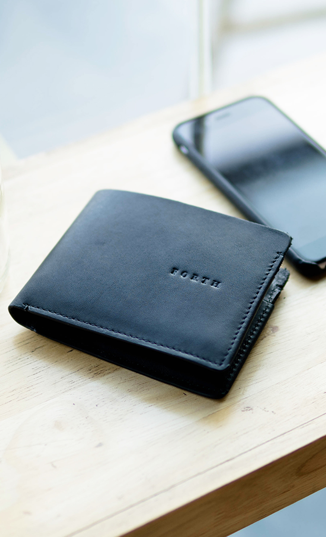 Black Men's Leather Wallet. Buy Online