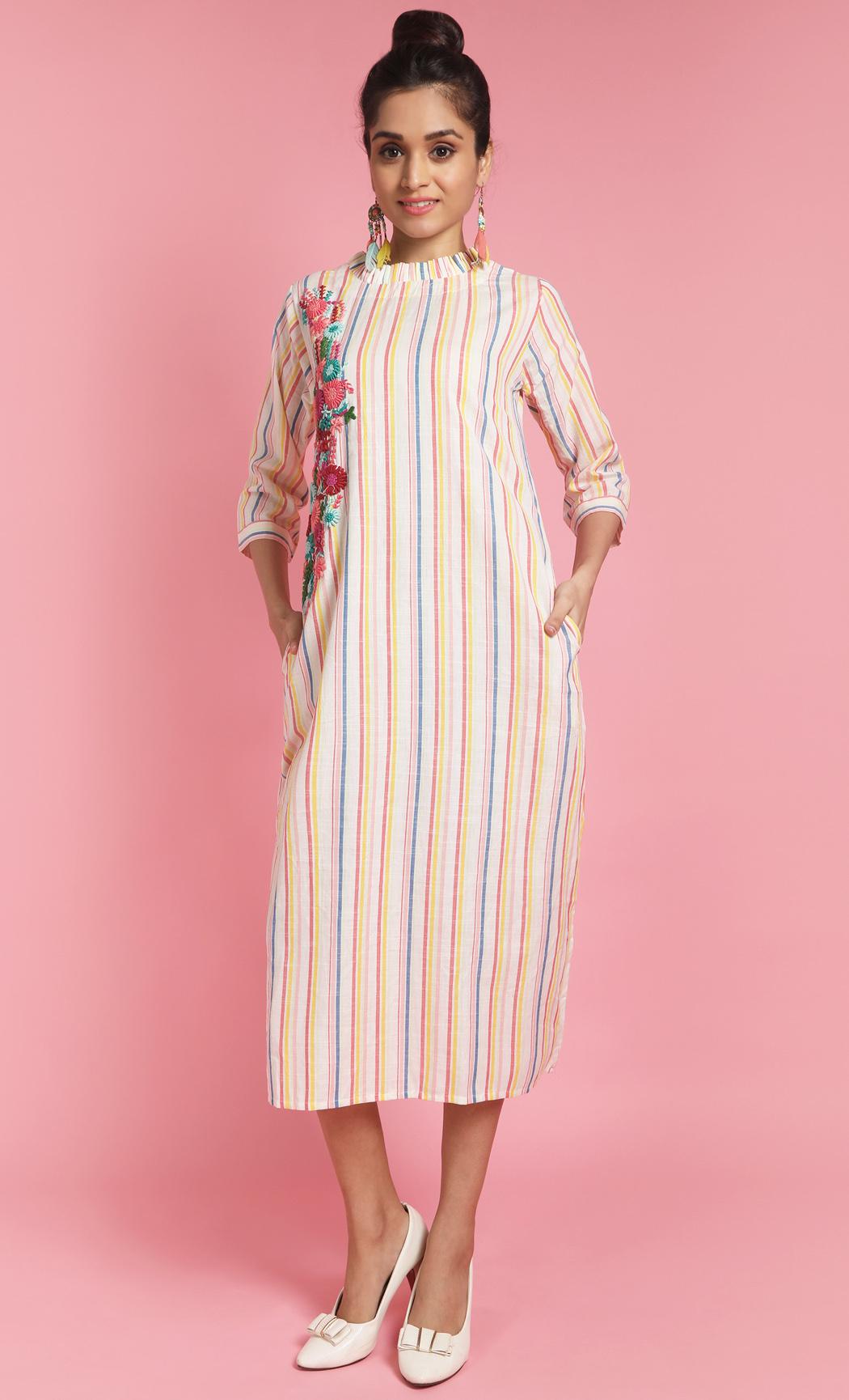 Multicolor Dress. Buy Online
