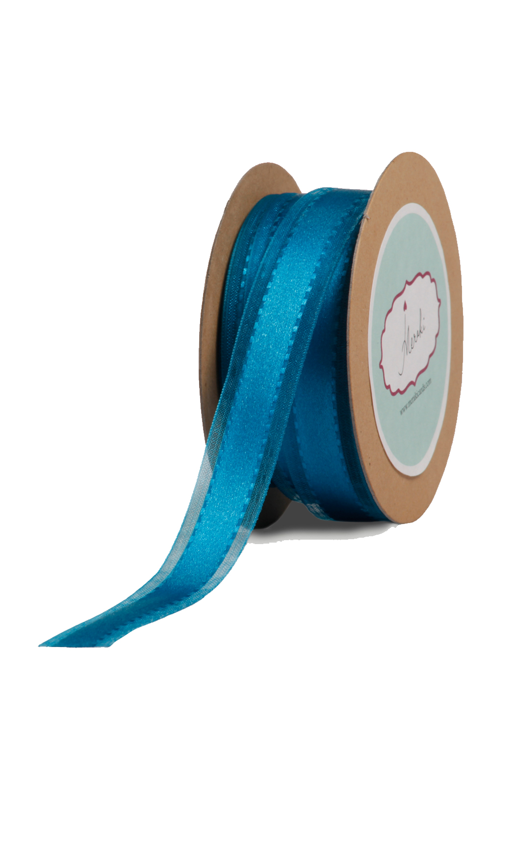 Royal Blue Sheer-Satin Ribbon - Buy Online