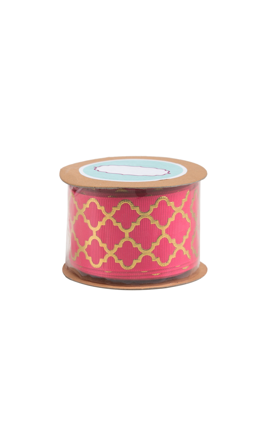 Pink and Gold Foiled Ribbon - Shop Online