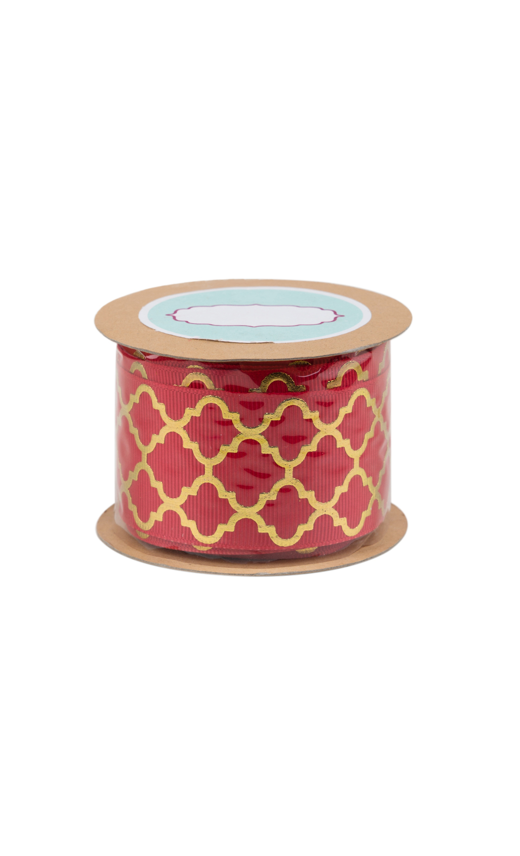 Red and Gold Foiled Ribbon - Shop Online