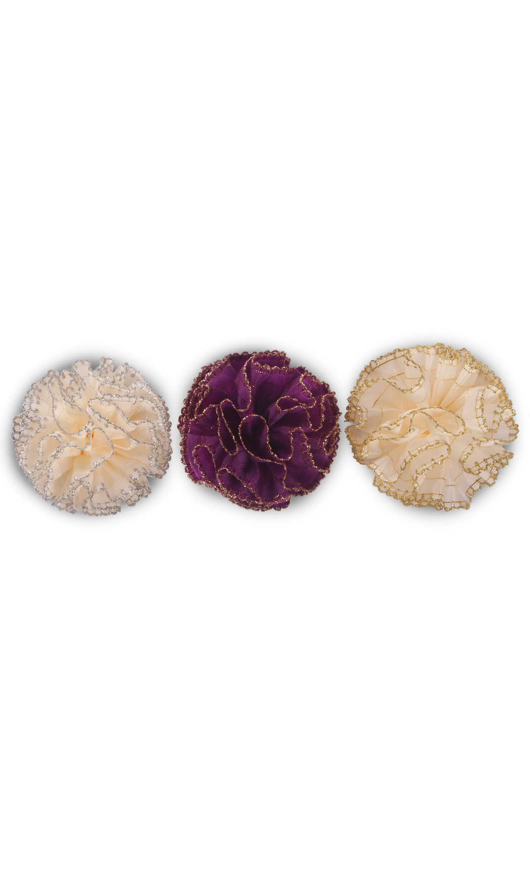 Ready to Stick Crochet Bows (Set of 3) - Buy Online