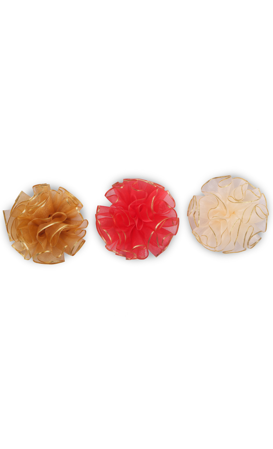 Ready to Stick Gold Rim Bows (Set of 3) - Buy Online