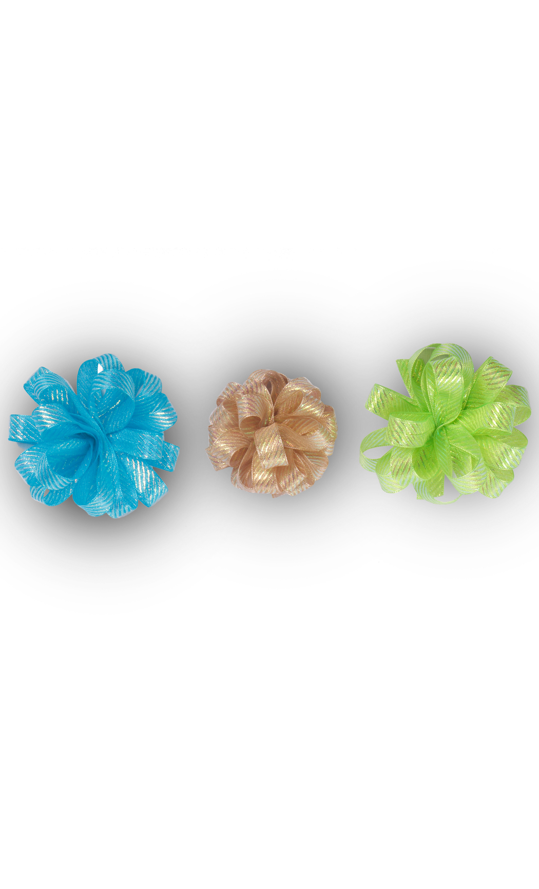 Ready to Stick Iridescent Bows (Set of 3) - Buy Online