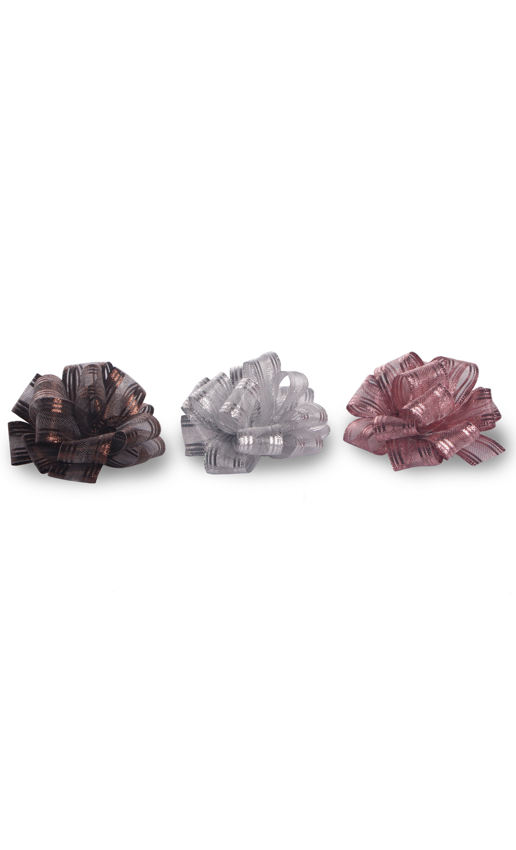 Ready to Stick Metalic Bows (Set of 3) - Buy Online