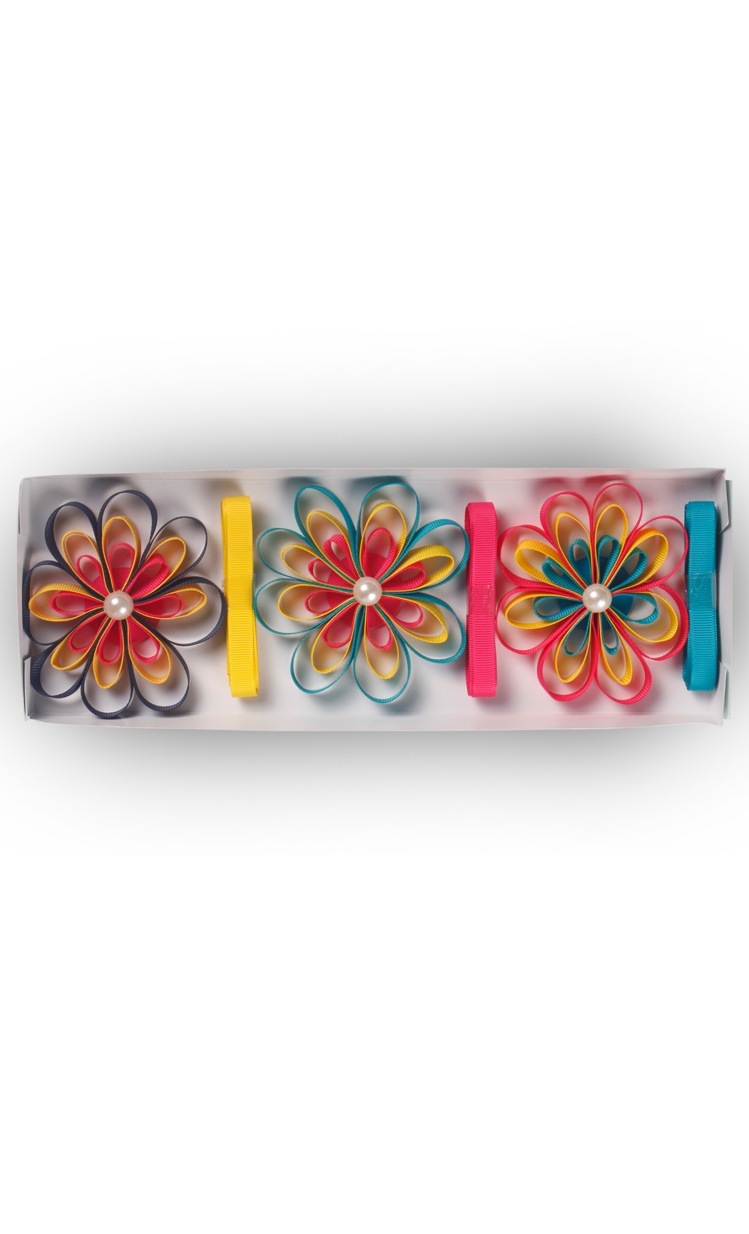 Ready to Stick Grosgrain Bright Bows (Set of 3) - Buy Online