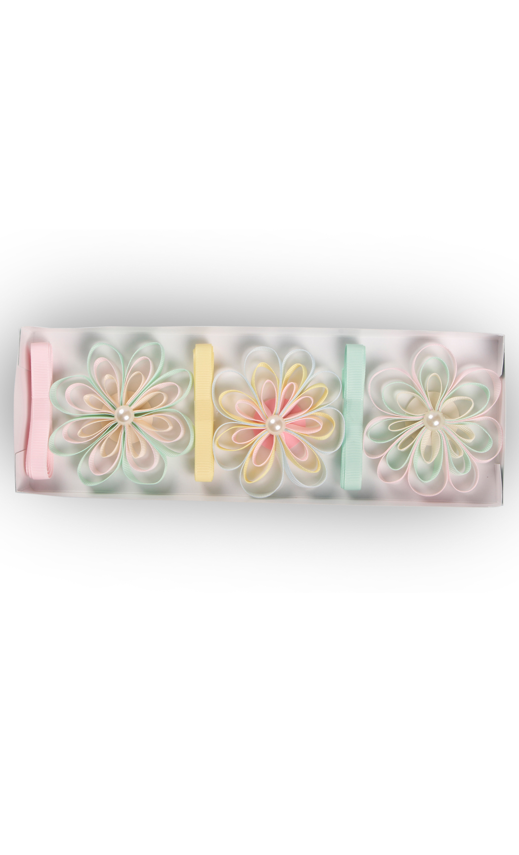 Ready to Stick Grosgrain Pastel Bows (Set of 3) - Buy Online