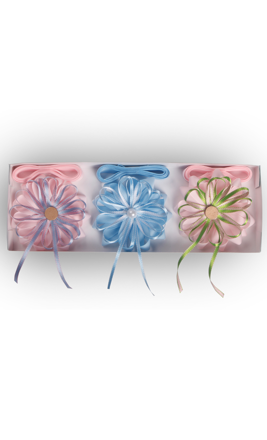 Ready to Stick Reversable Pastel Bows (Set of 3) - Buy Online