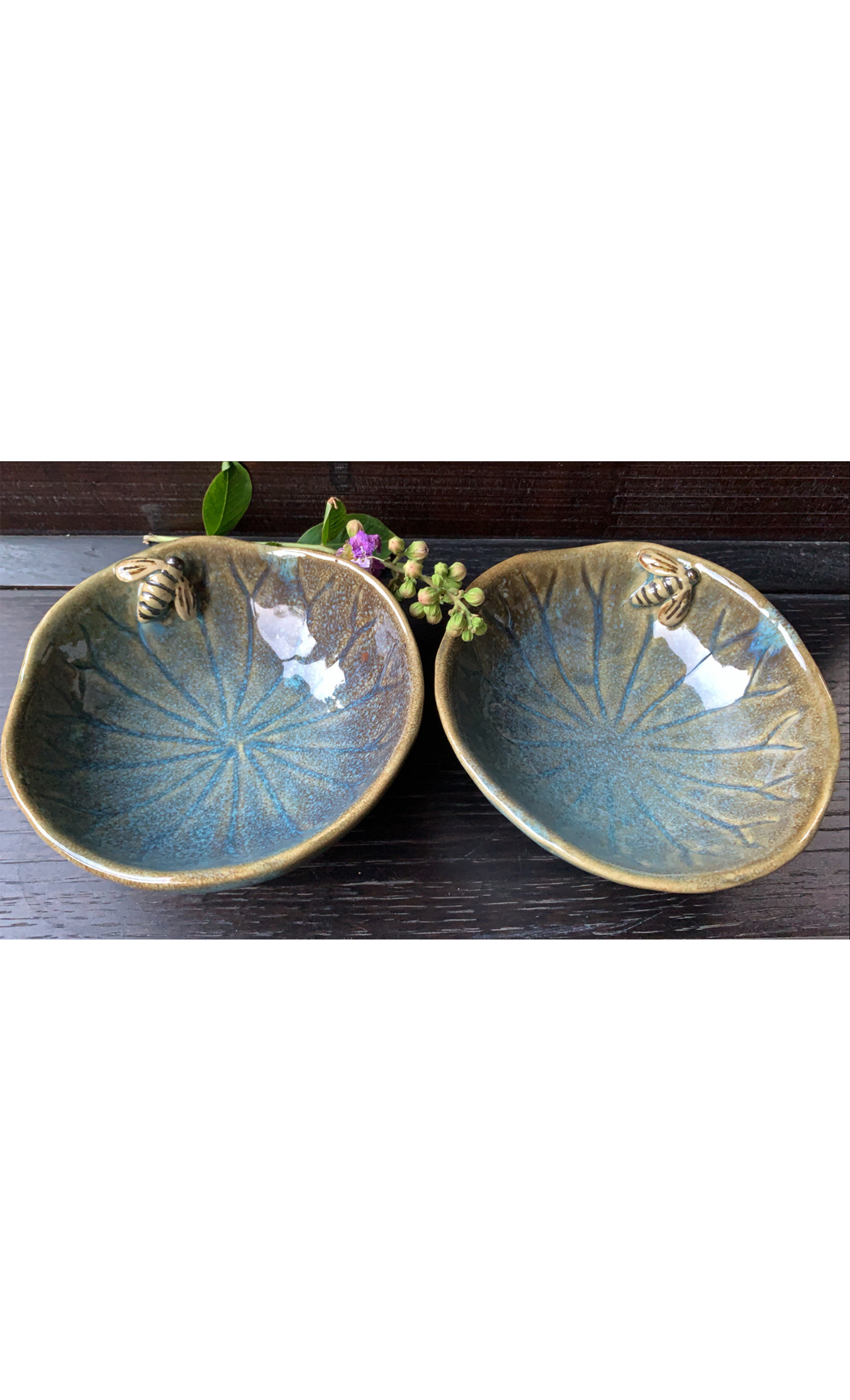 Blue Small Round Bowl. Buy Online