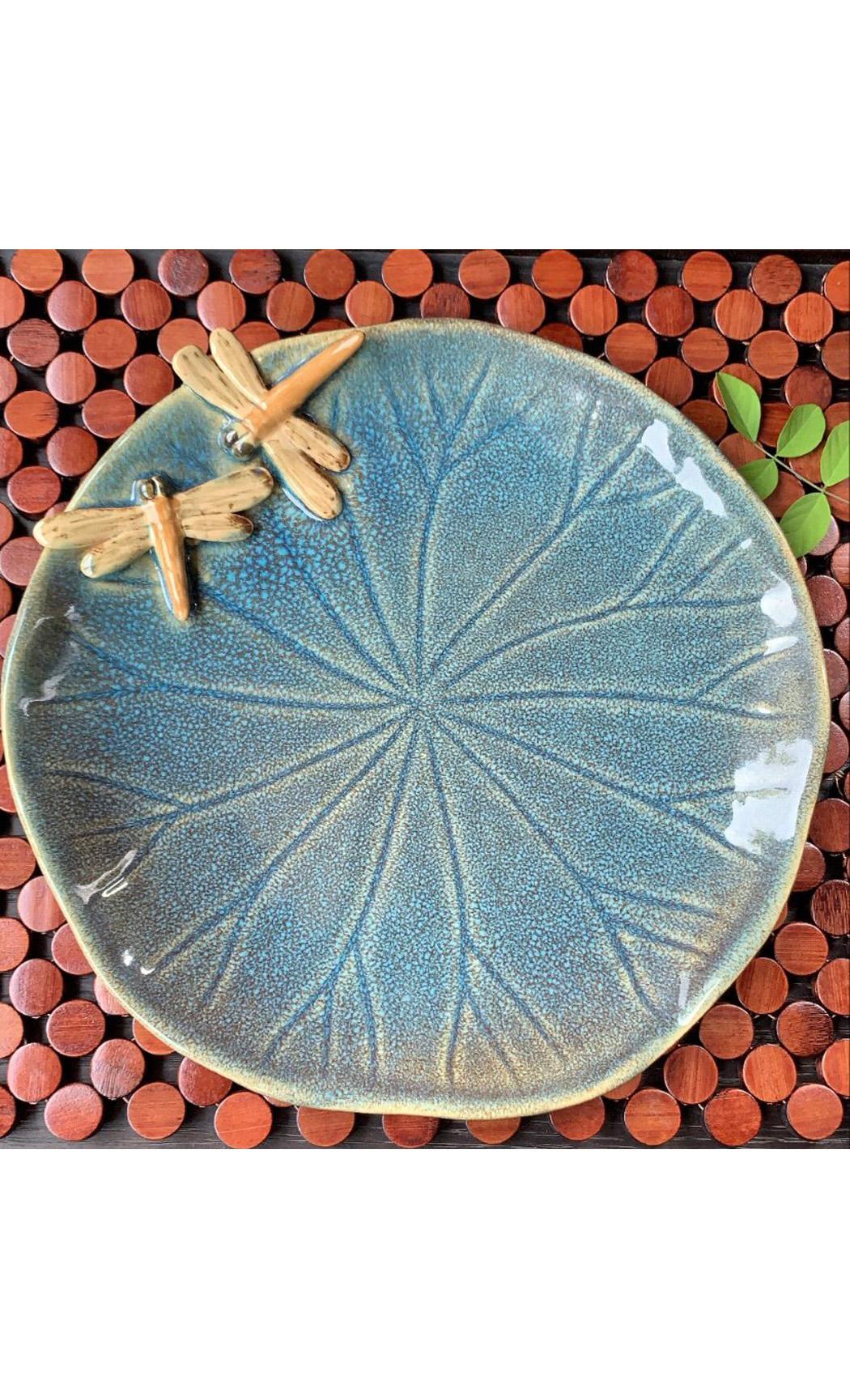 Blue Round Platter. Buy Online