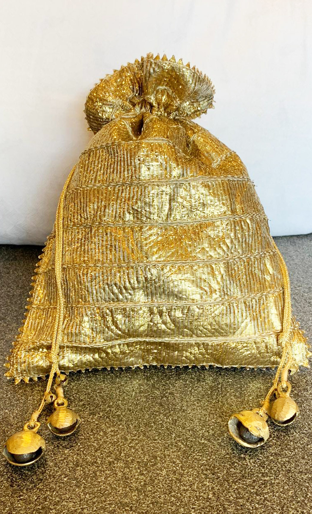 Gold Potli (Pack of 5) - Buy Online