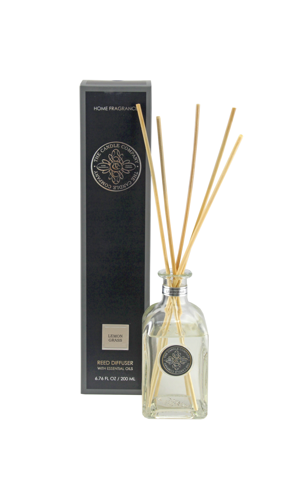 Scented Reed Diffuser Sticks and Lemongress Fragrance Oil - Aromatic Diffusers by The Candle Co. - Shop Online in India