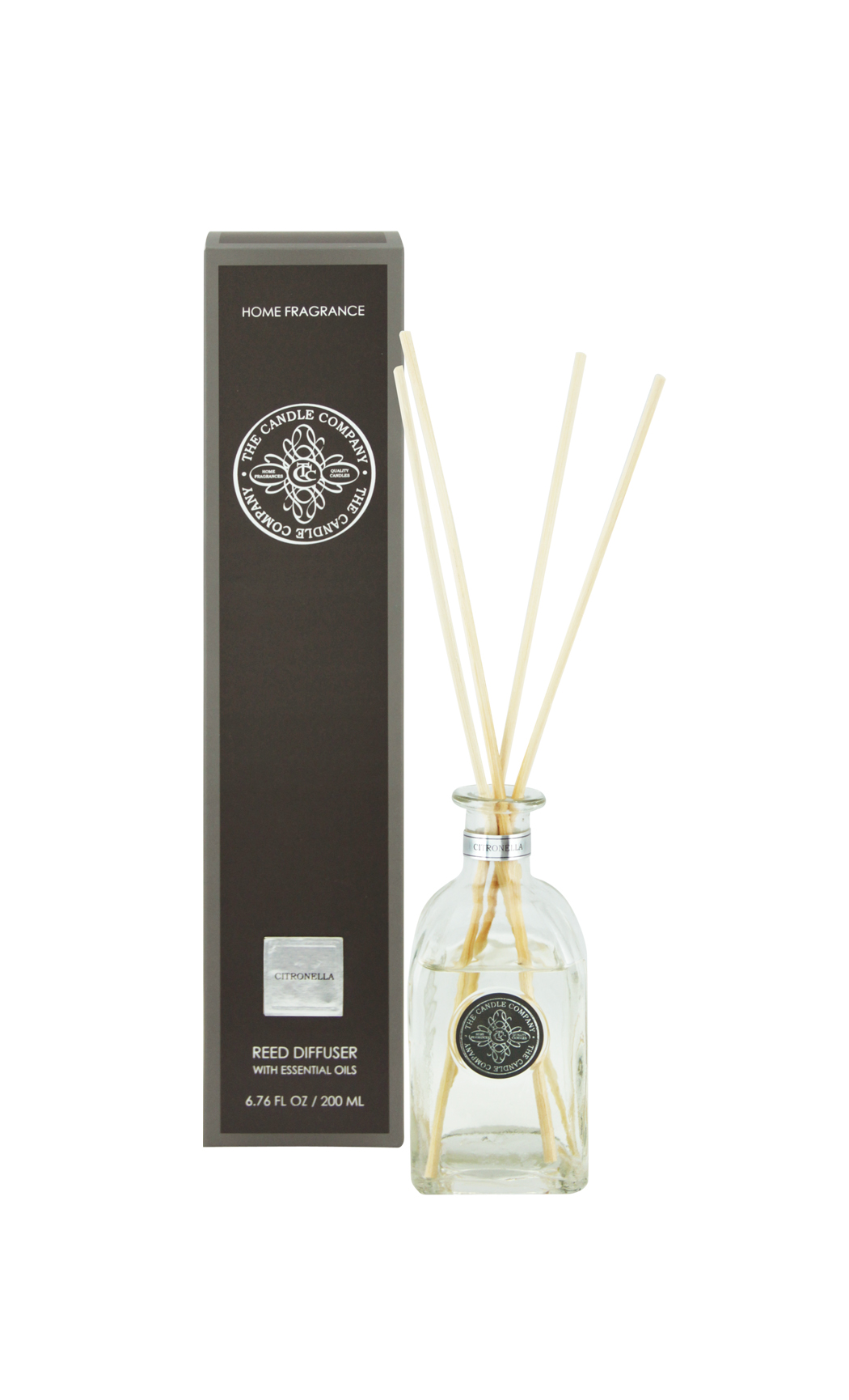 Scented Reed Diffuser Sticks and Citrus Fragrance Oil - Aromatic Diffusers by The Candle Co. - Shop Online in India
