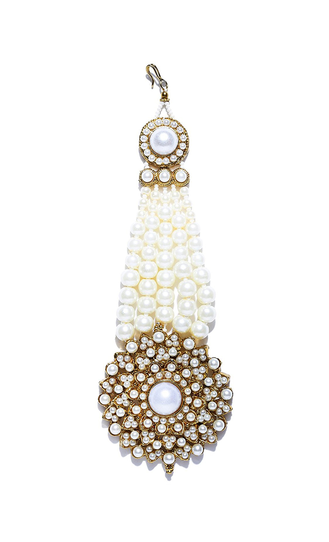 Gold Plated Pearl Passa- Shop Online