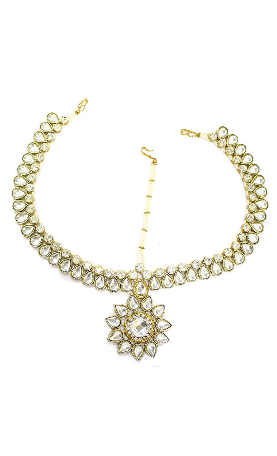 Kundan and Gold Plated Mathapatti - Shop Online