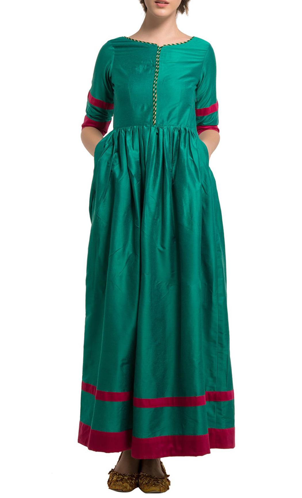Bottle Green Long Tunic - Buy Online