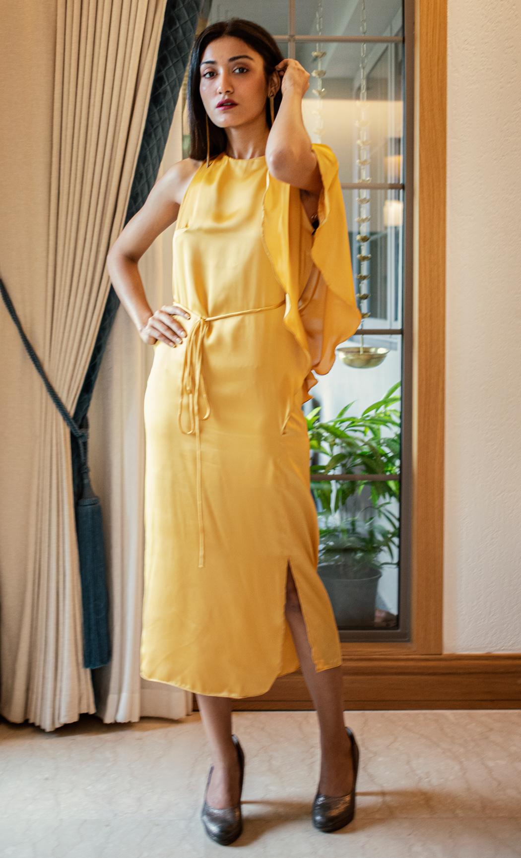 Yellow Maxi Dress. Buy Online