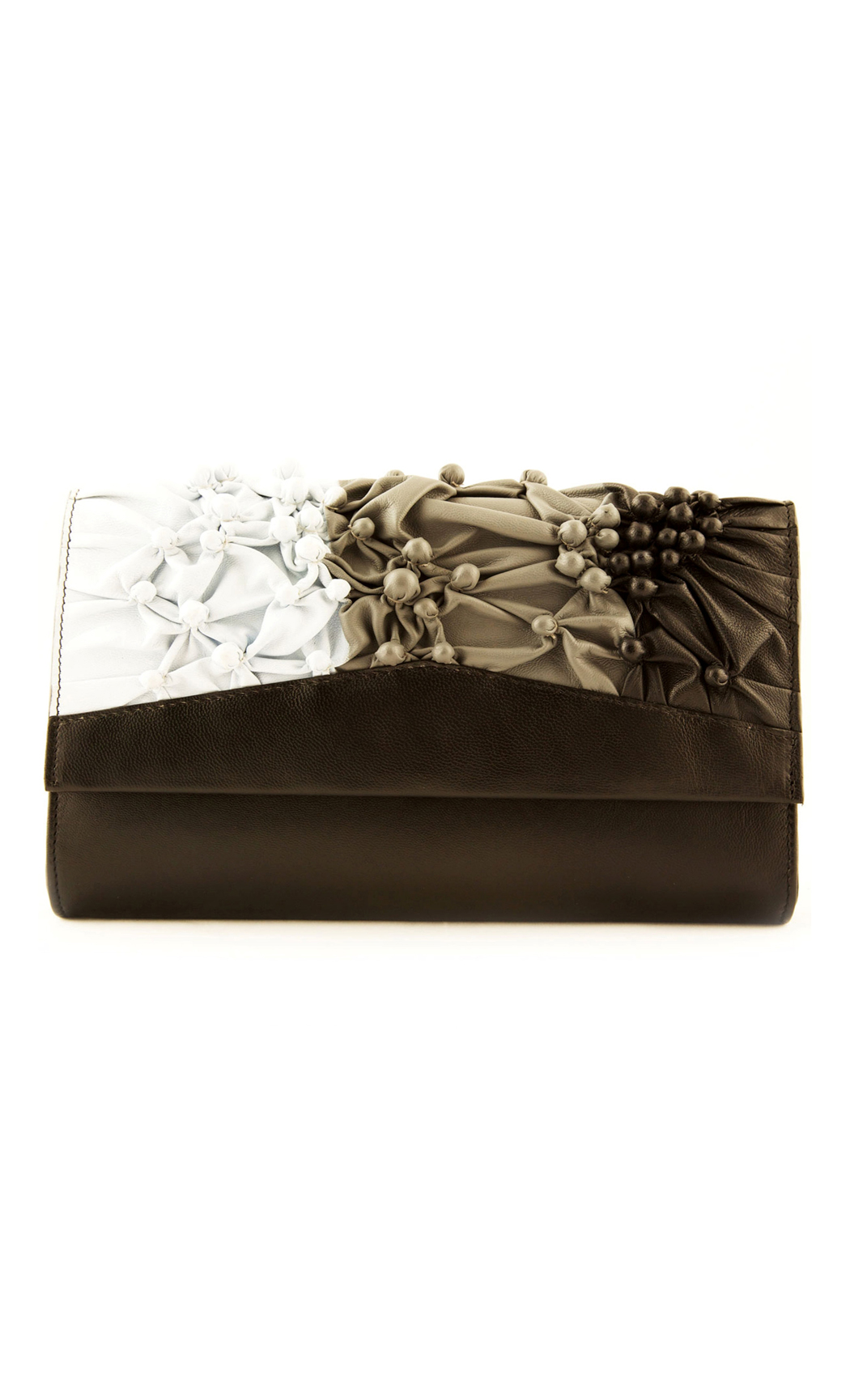 Bubbling Over Clutch in Shaded Black. Buy Online