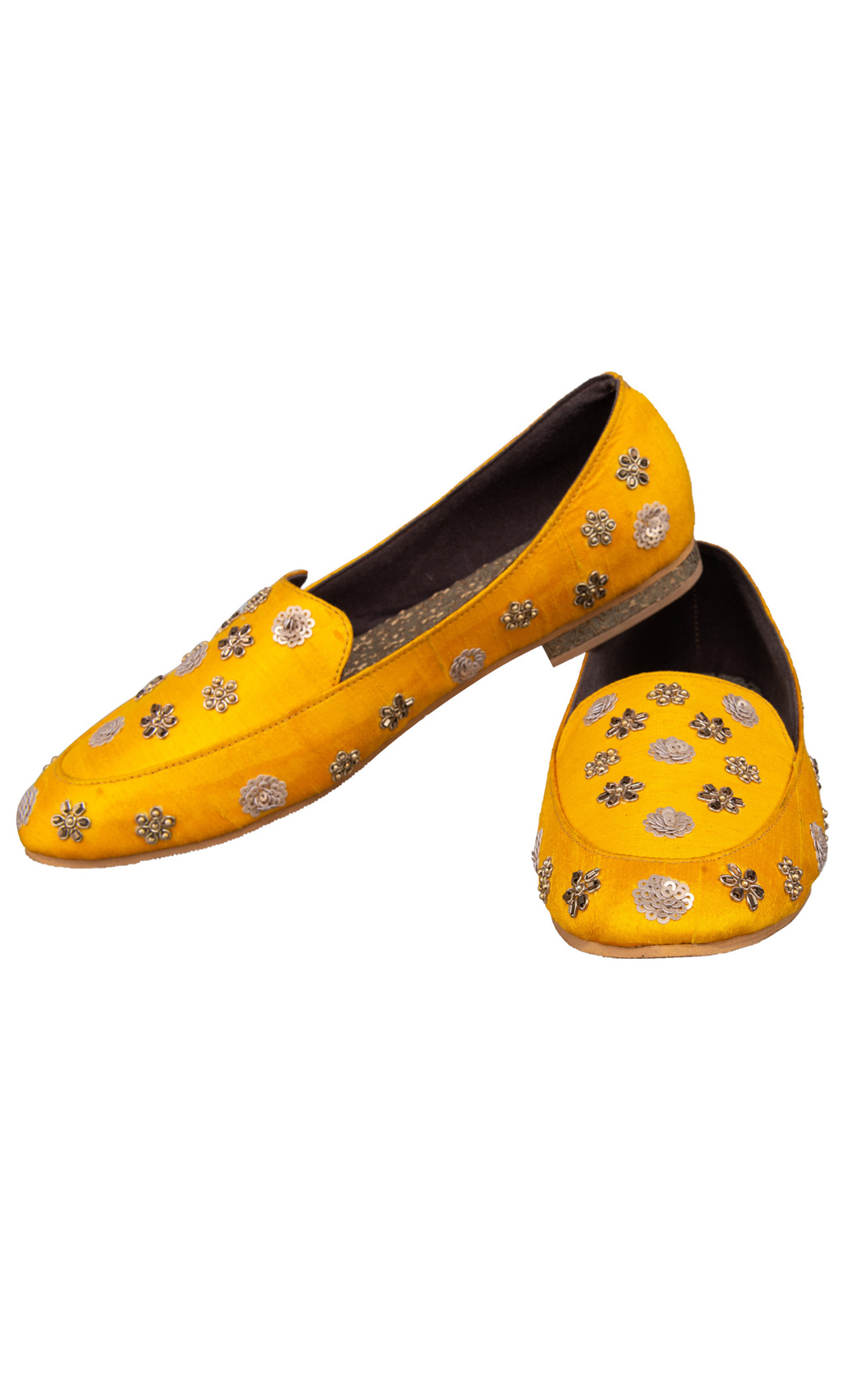 Yellow Noor Loafers - Buy Online