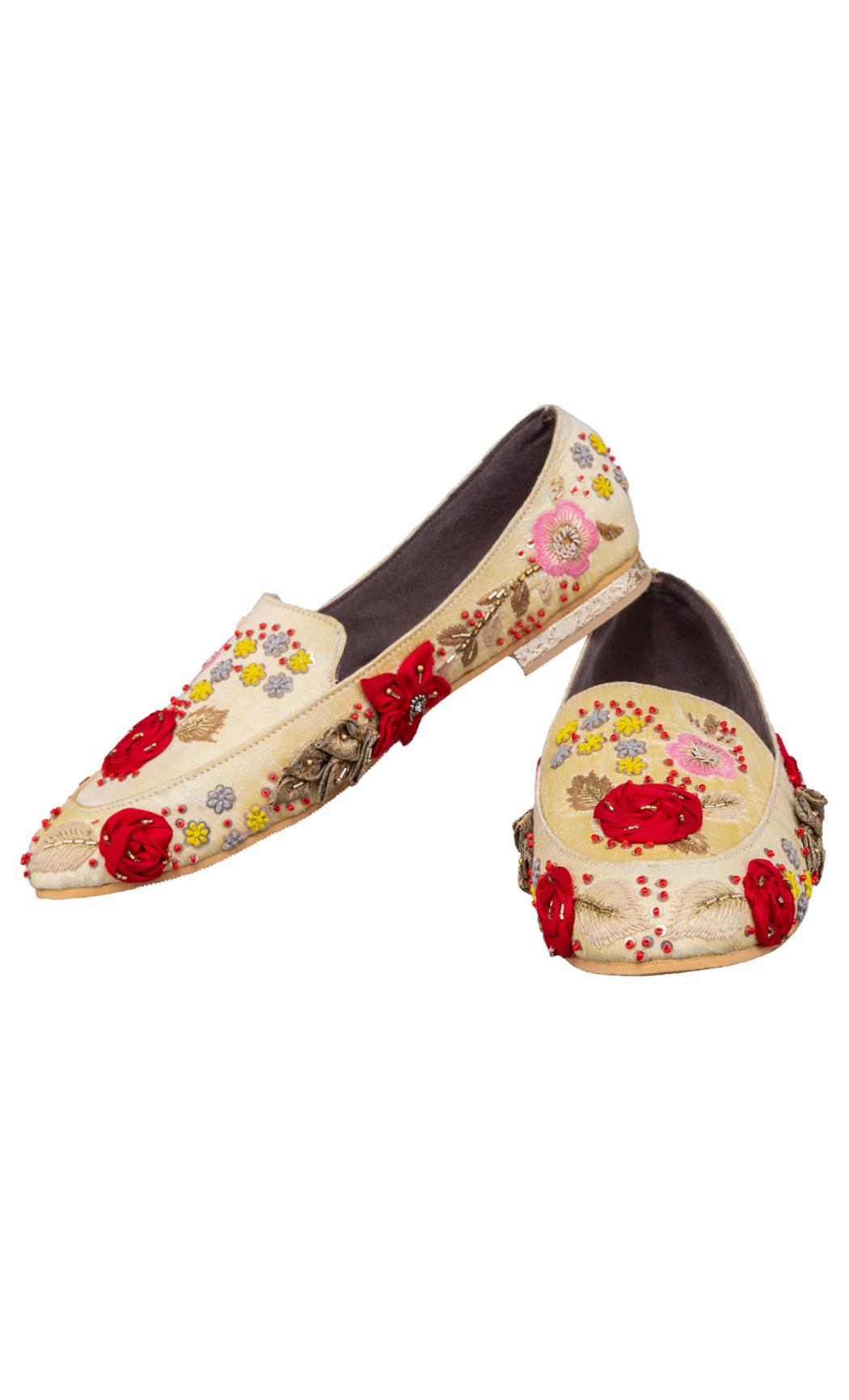 Beige Aara Loafers - Buy Online