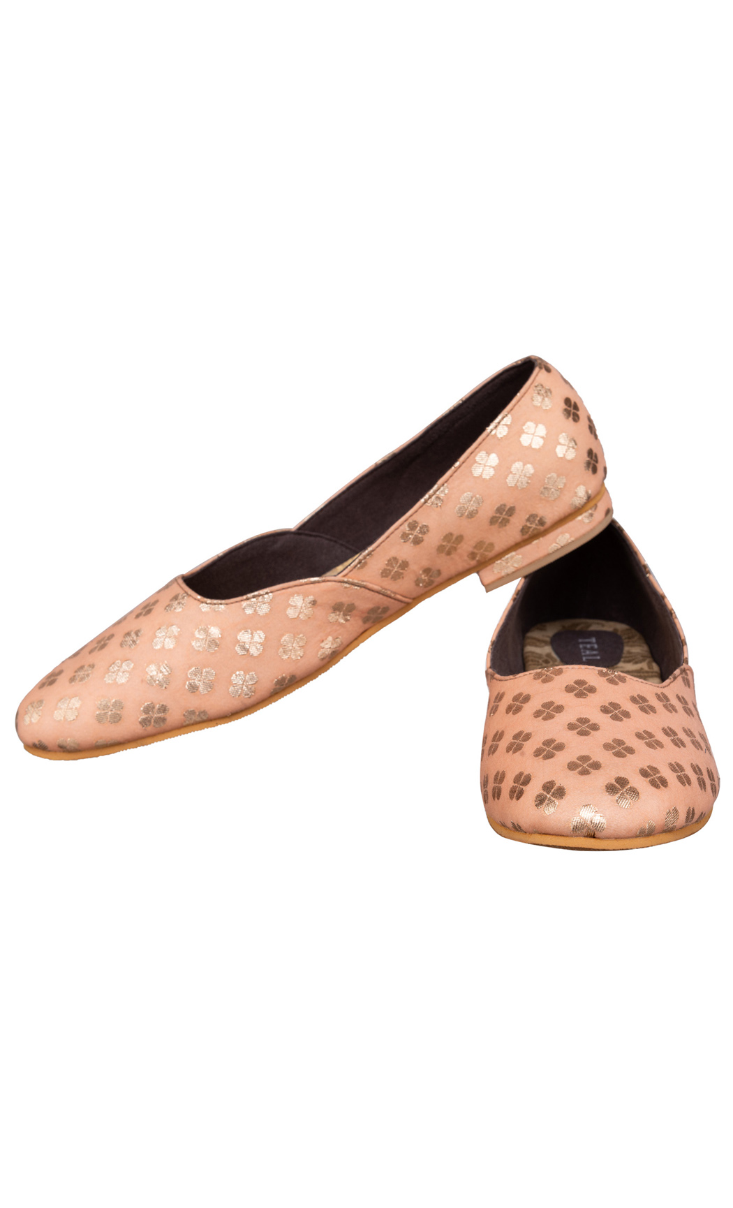 Peach Pretty in Pastel Ballerinas - Buy Online