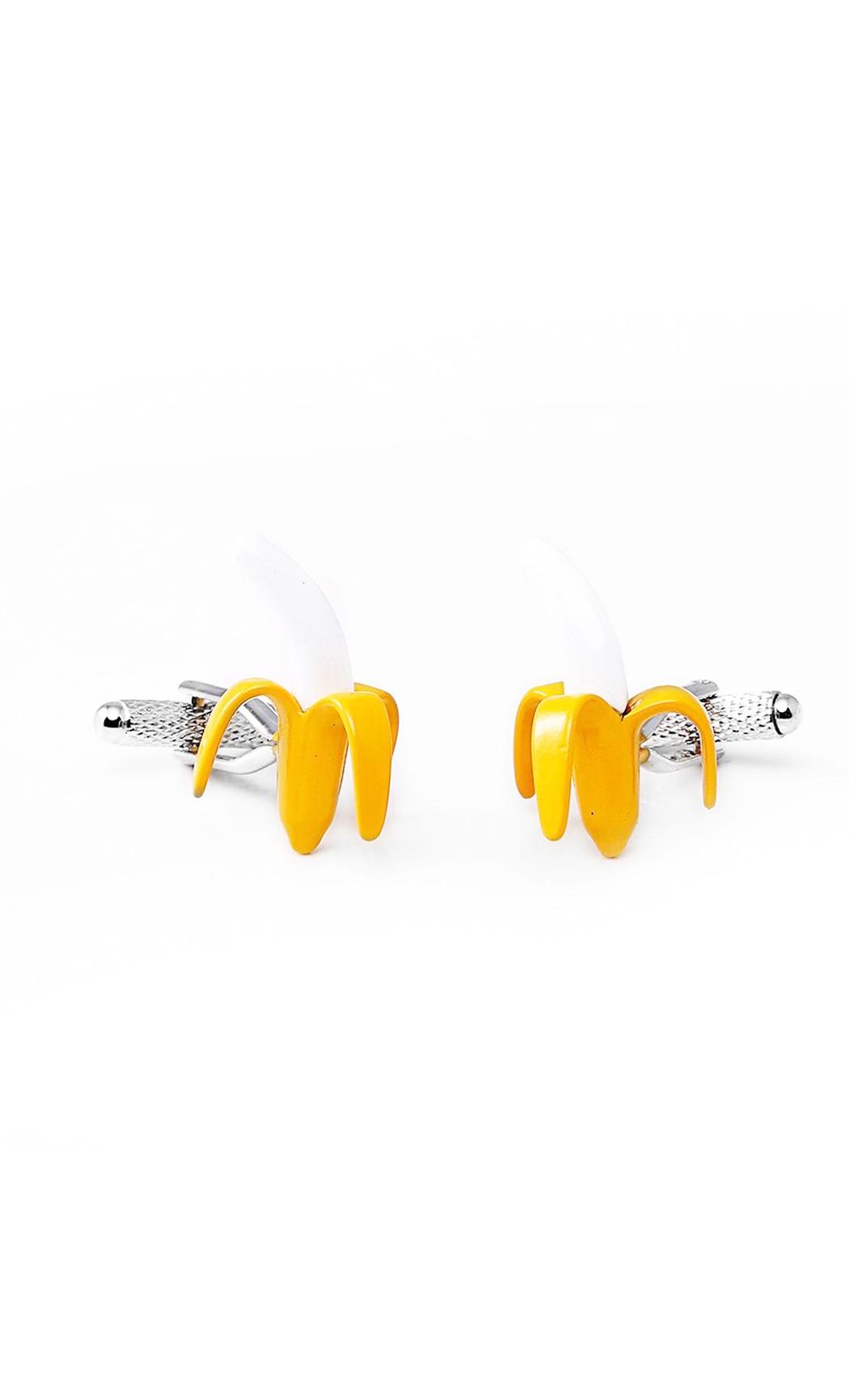 Yellow Banana Cufflink. Buy Online