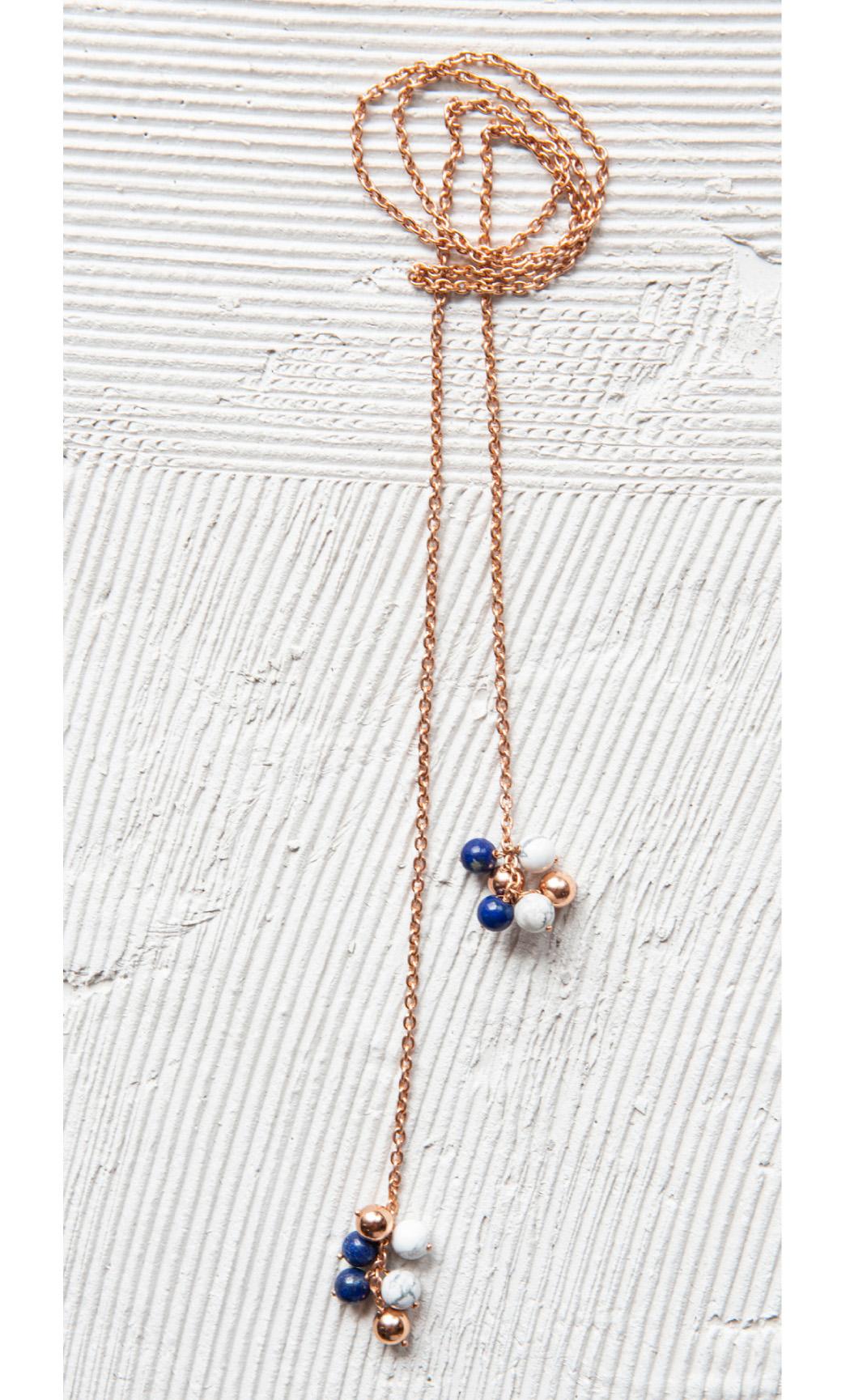 Multi Colour Ball Scarf Neckpiece - Buy Now.