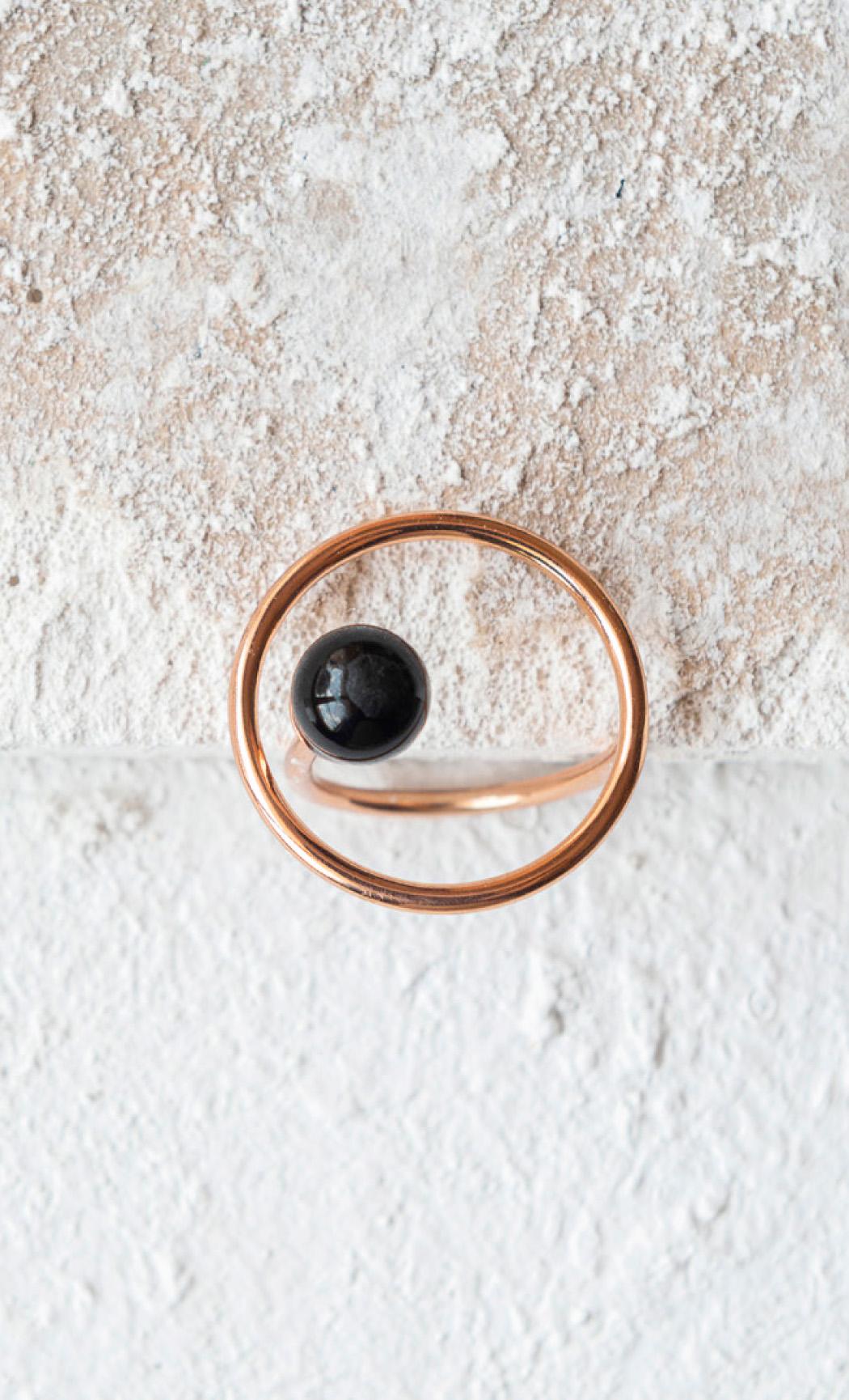 Orbital Black Onyx Ring - Buy Now.